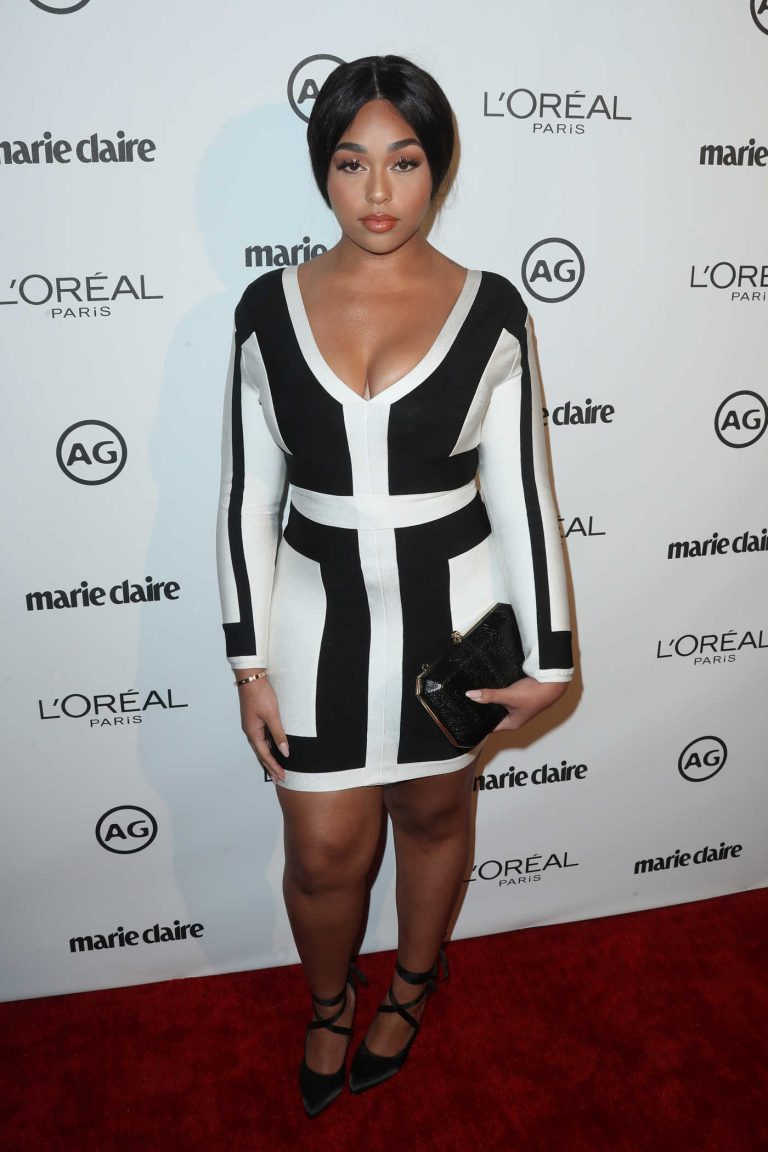 Jordyn Woods at the Marie Claire Image Maker Awards in Los Angeles 10/01/2017-1