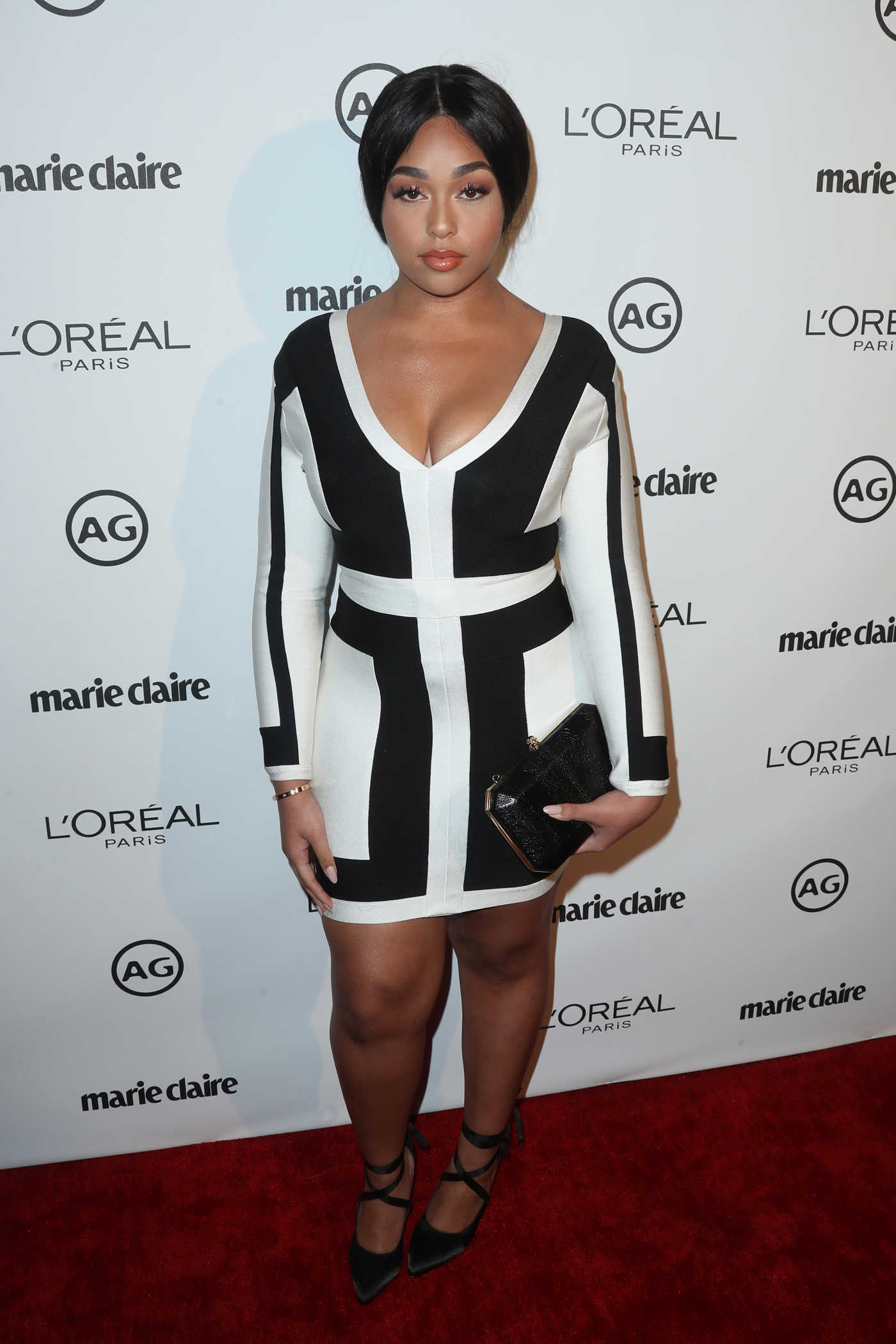 Jordyn Woods at the Marie Claire Image Maker Awards in Los Angeles 10/01/2017