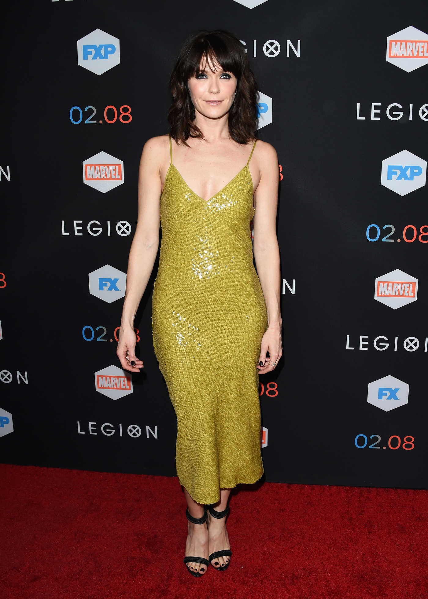 Katie Aselton at the Legion TV Series Premiere in Los Angeles 01/26/2017