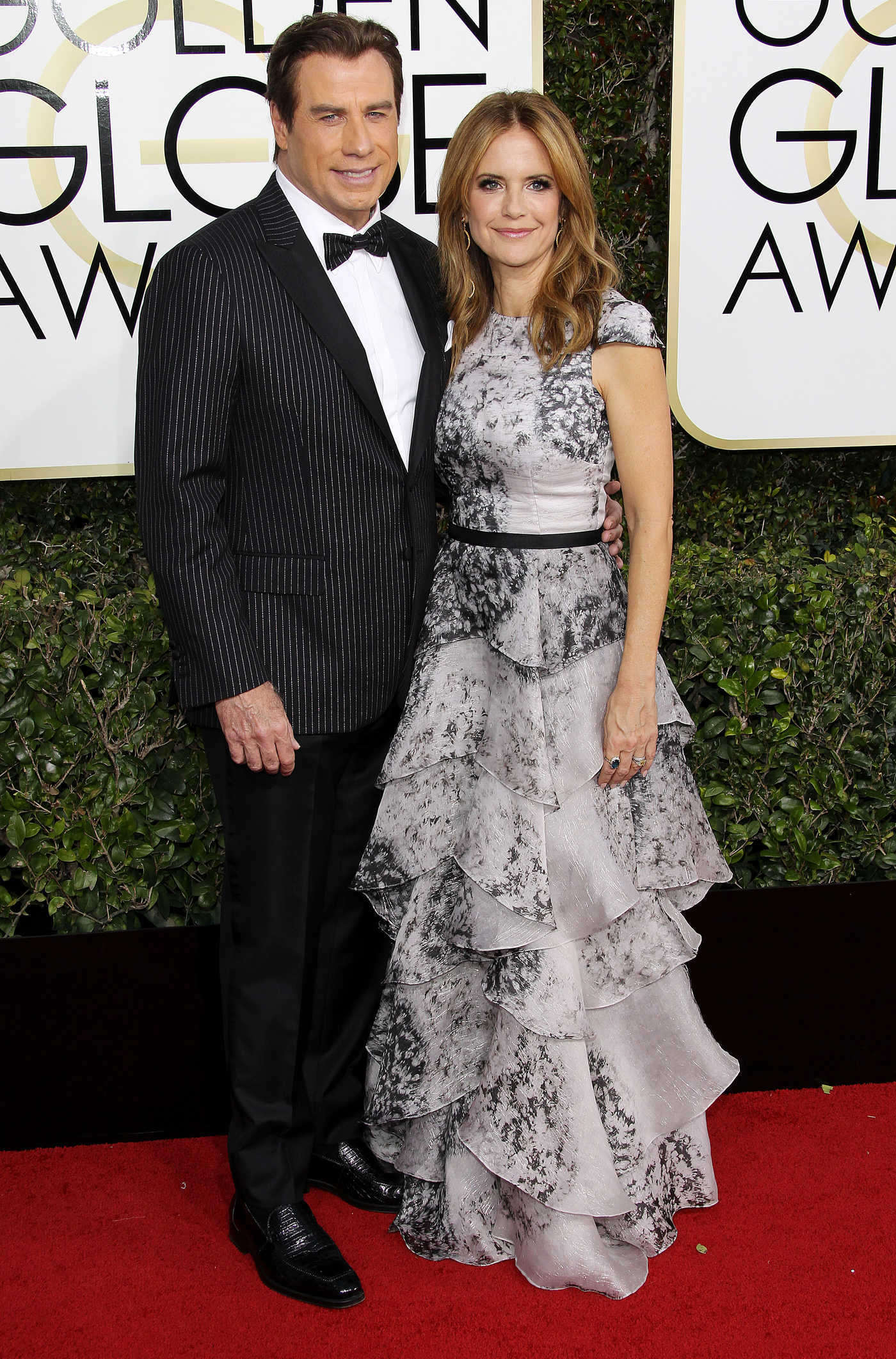 Kelly Preston at the 74th Annual Golden Globe Awards in Beverly Hills 01/08/2017