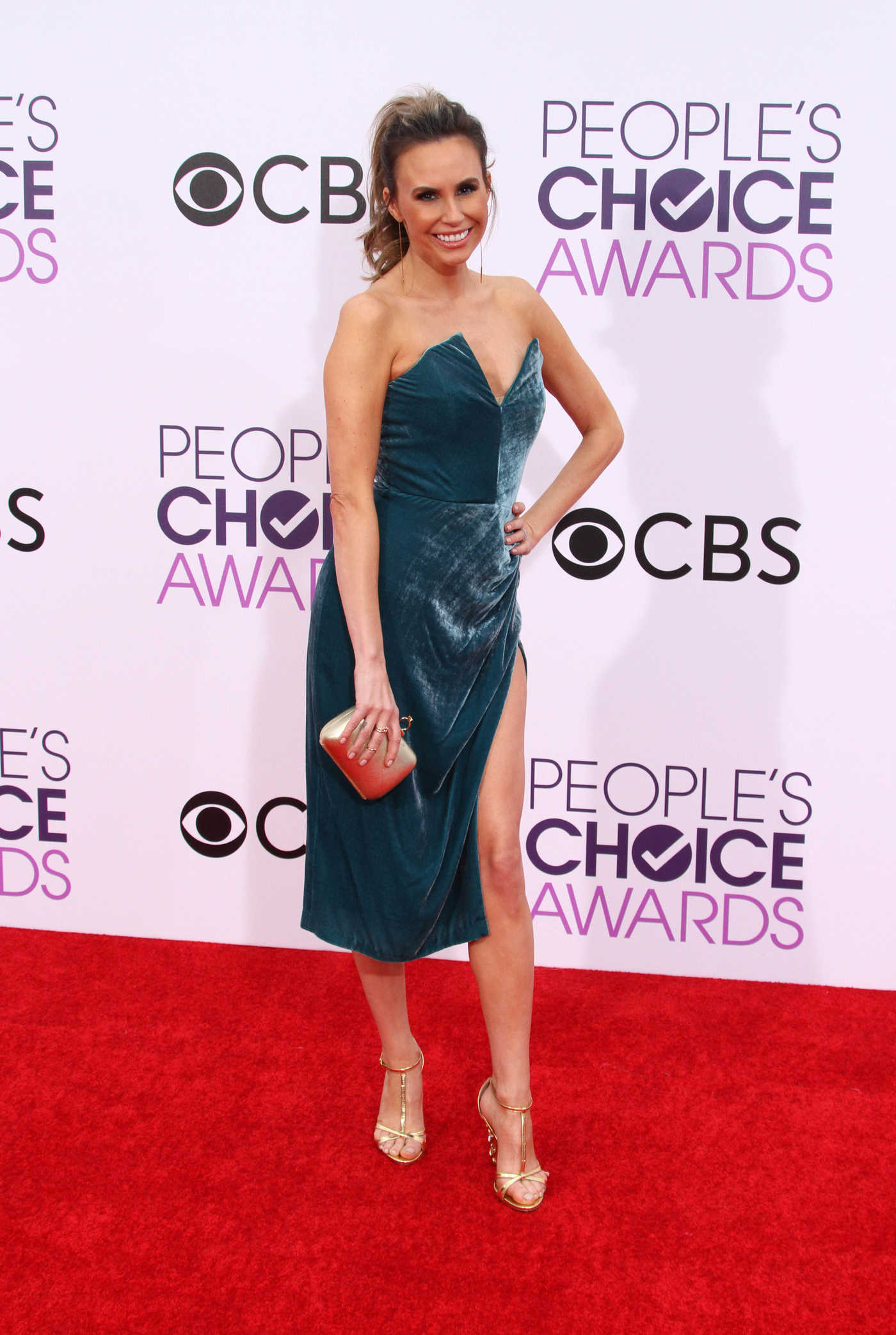 Keltie Knight at the 43rd Annual People's Choice Awards in Los Angeles 01/18/2017