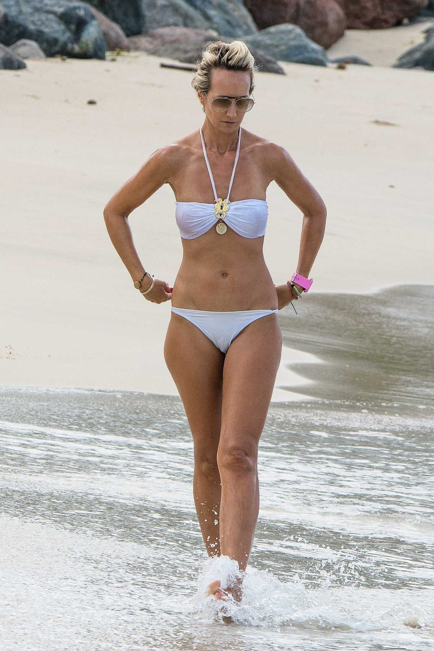 Lady Victoria Hervey in Bikini at the Beach in Barbados 01/01/2017