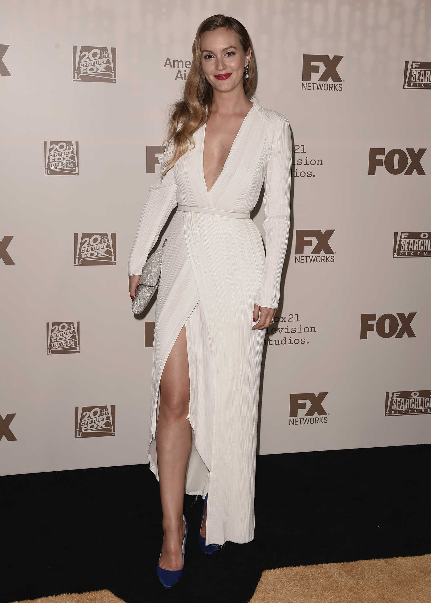 Leighton Meester at the FOX All-Star Party During the 2017 Winter TCA Tour in Pasadena 01/11/2017