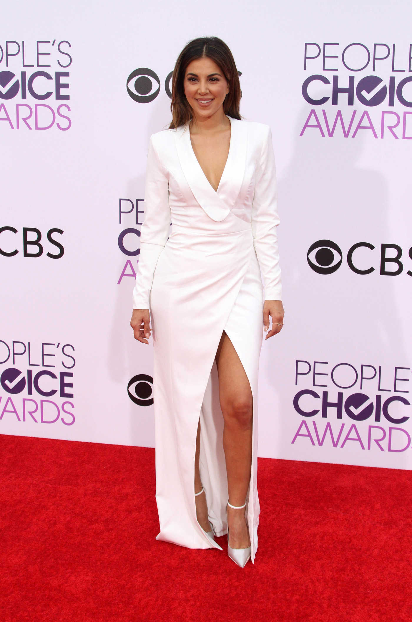 Liz Hernandez at the 43rd Annual People's Choice Awards in Los Angeles 01/18/2017
