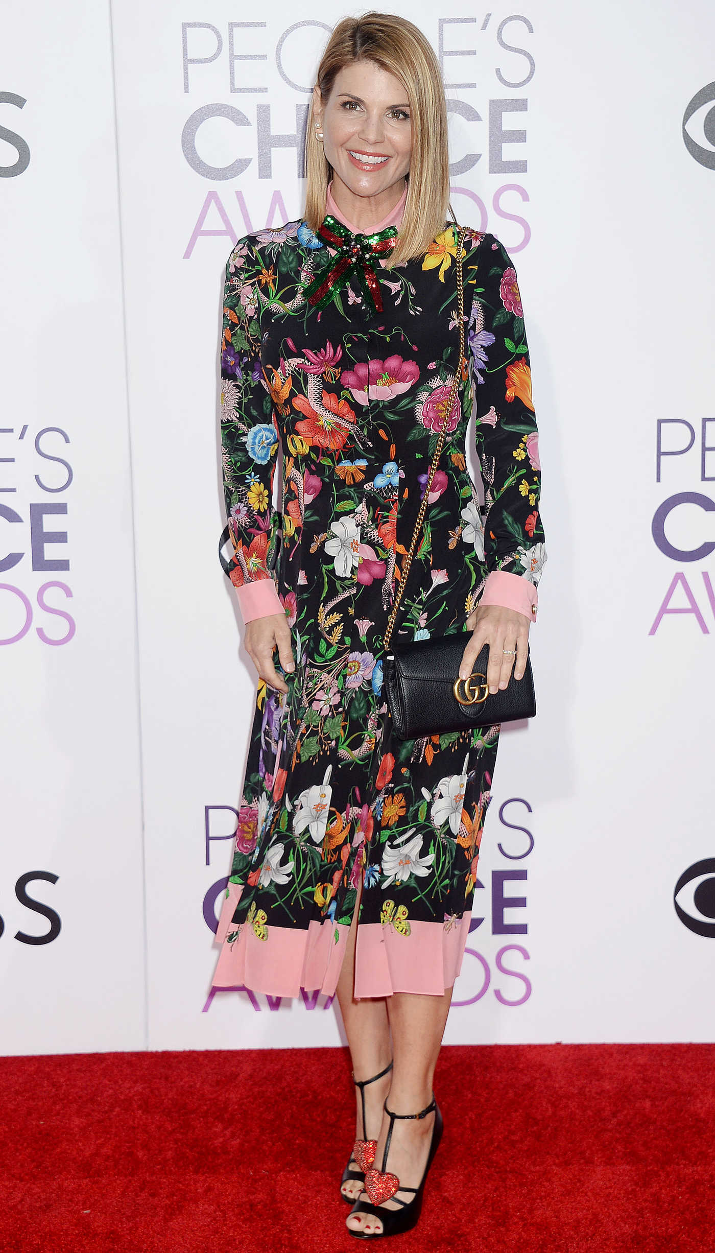 Lori Loughlin at the 43rd Annual People's Choice Awards in Los Angeles 01/18/2017