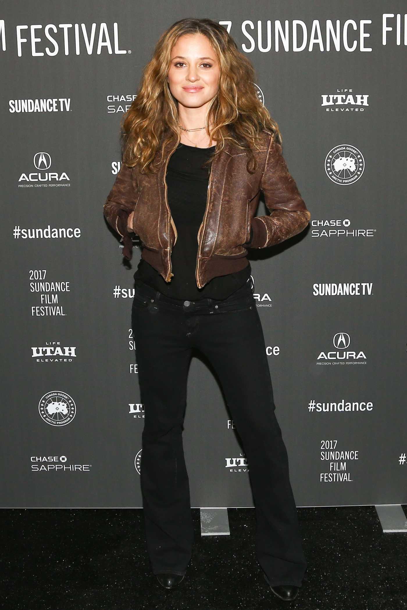 Margarita Levieva at LA Times Premiere During Sundance Film Festival 01/20/2017