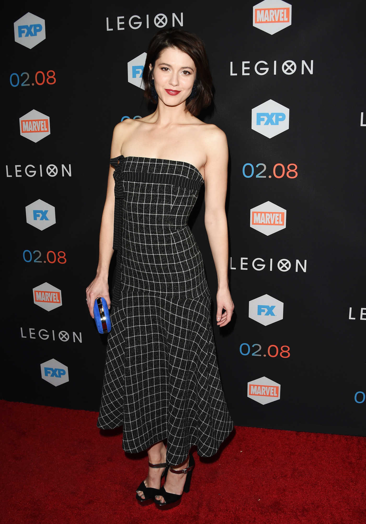 Mary Elizabeth Winstead at the Legion TV Series Premiere in Los Angeles 01/26/2017