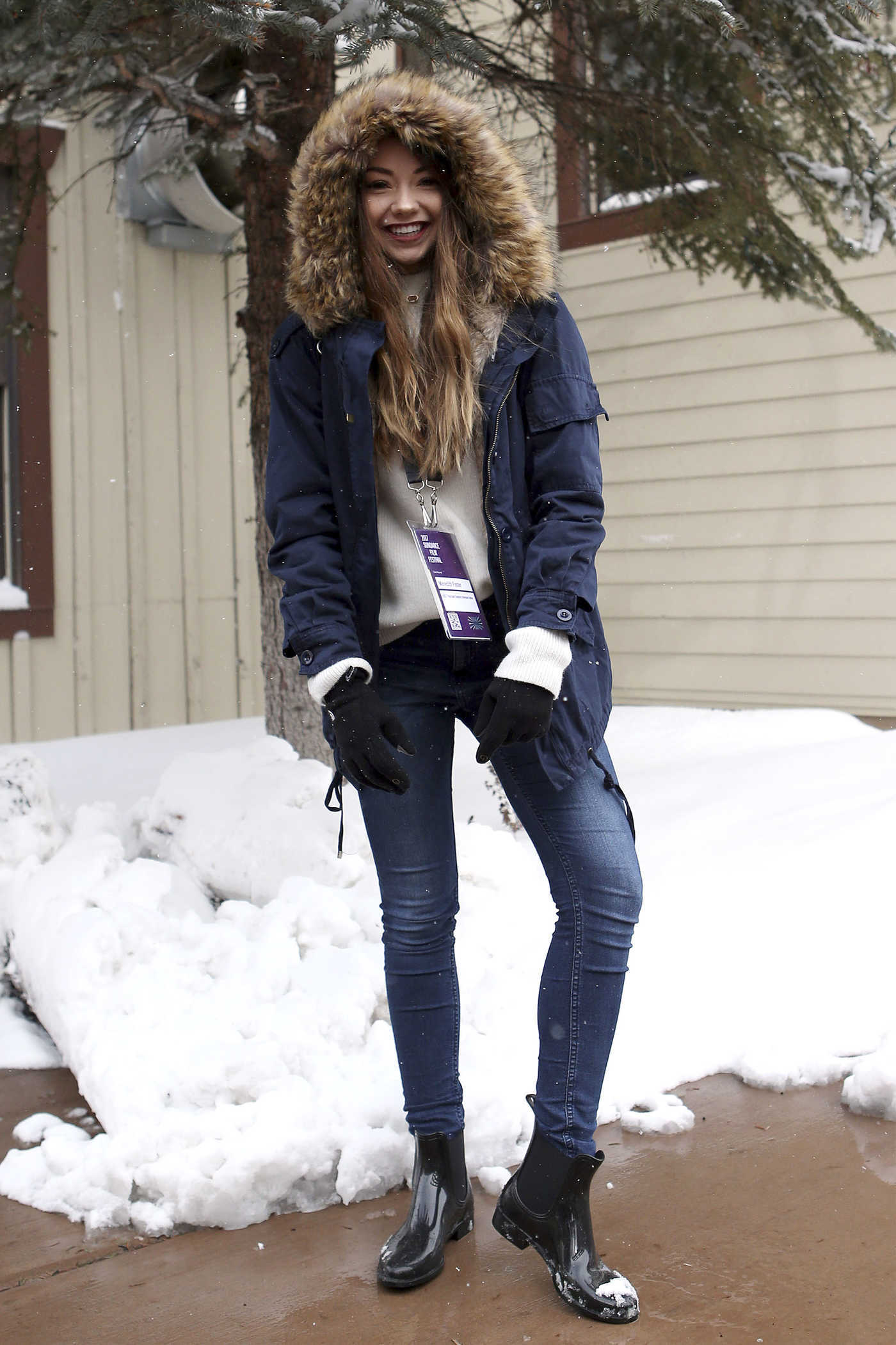 Meredith Foster Was Seen Out in Park City During Sundance Film Festival 01/21/2017