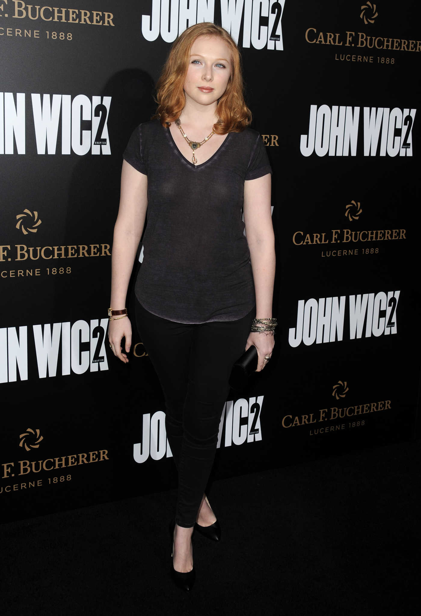 Molly Quinn at the John Wick: Chapter 2 Premiere in Los Angeles 01/30/2017