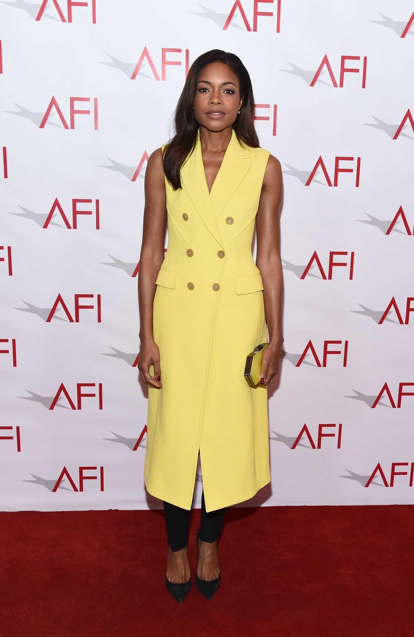 Naomie Harris at AFI Awards Luncheon in Los Angeles 01/06/2017