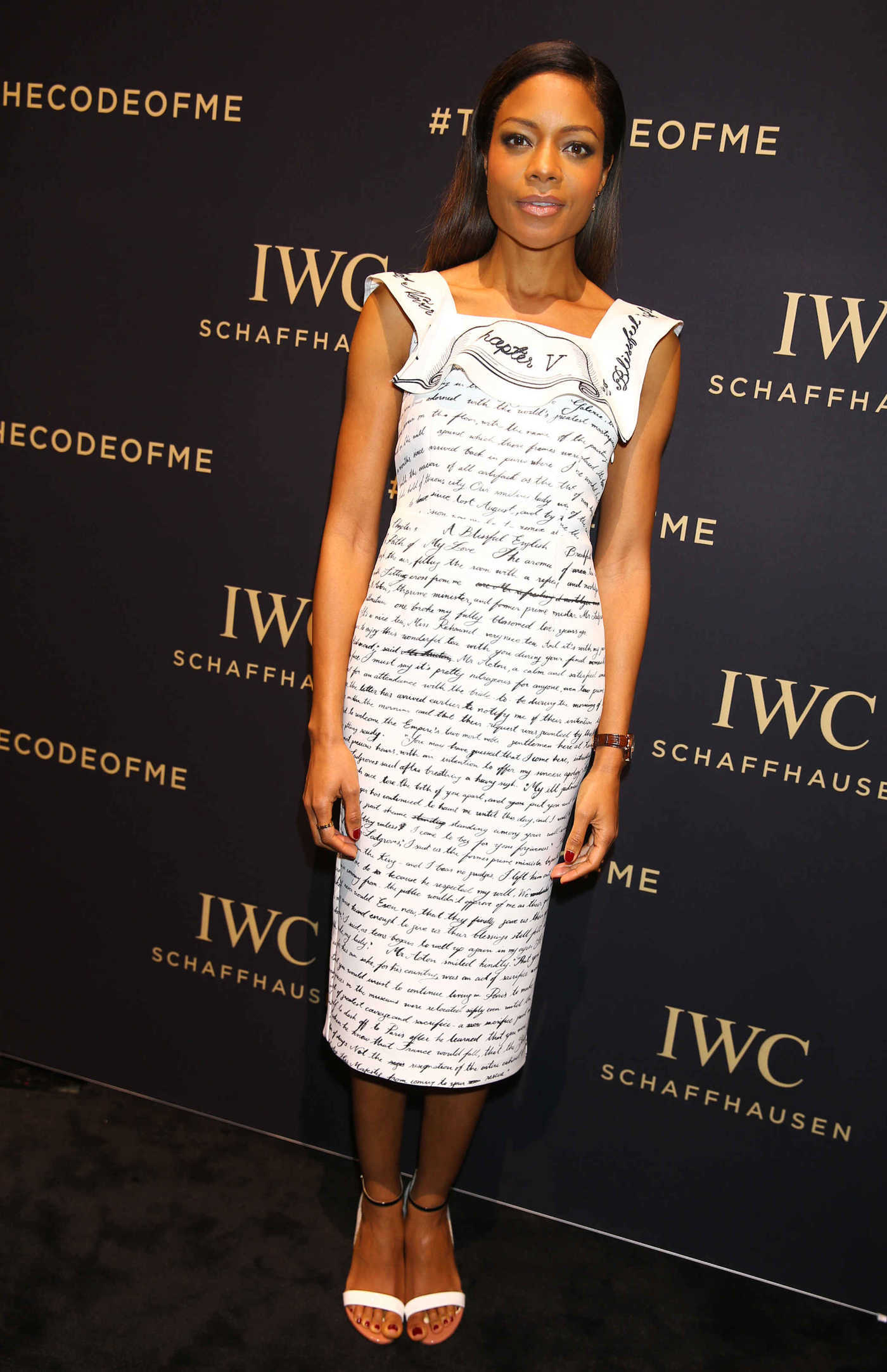 Naomie Harris at the Decoding the Beauty of Time Da Vinci Watches Collection Launch in Geneva 01/17/2017