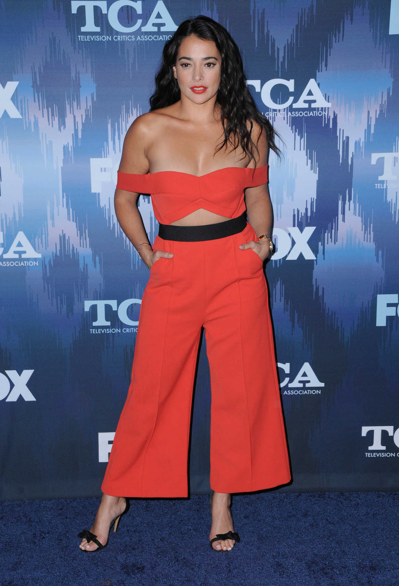 Natalie Martinez at the FOX All-Star Party During the 2017 Winter TCA Tour in Pasadena 01/11/2017