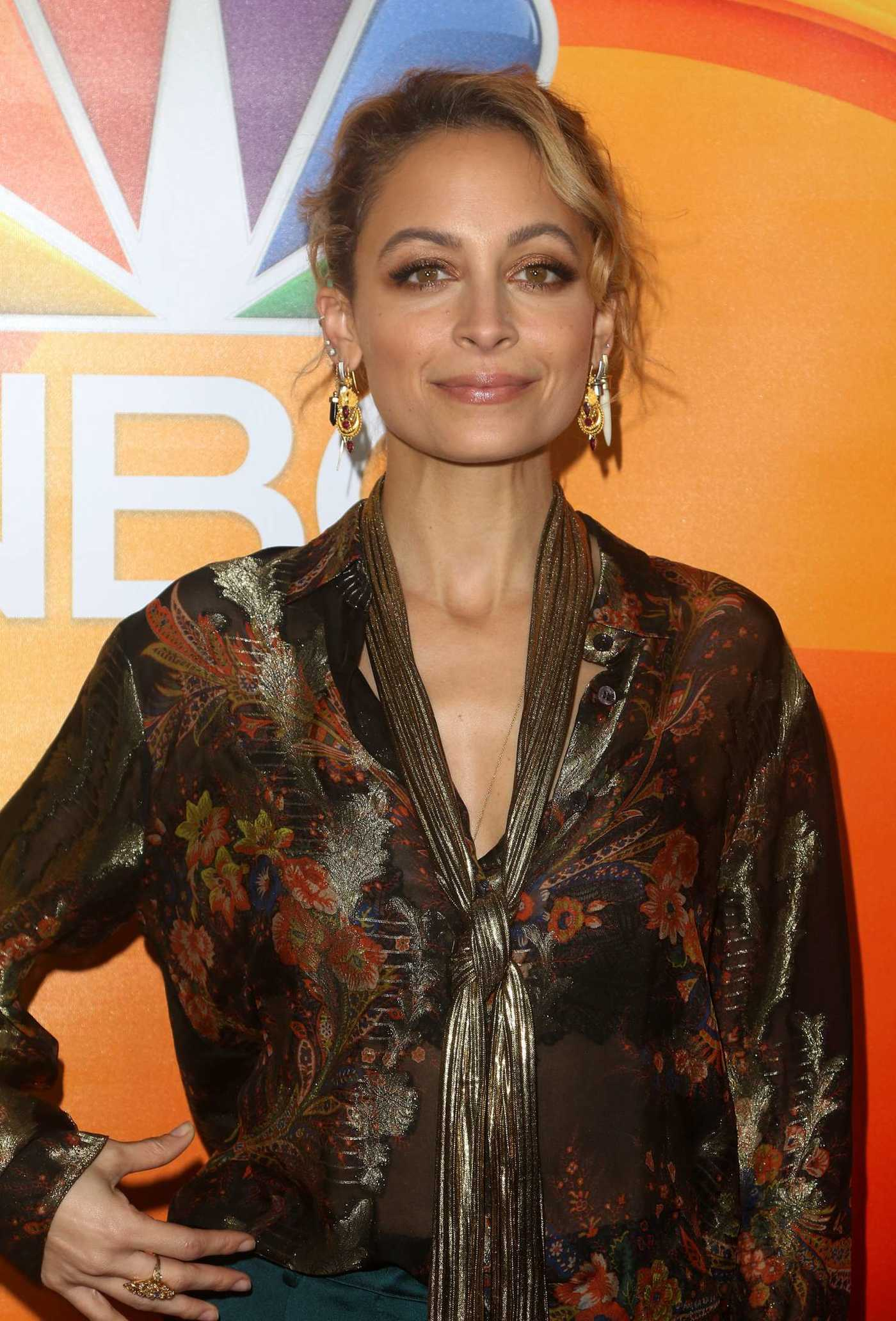 Nicole Richie at the 2017 NBCUniversal Winter Press Tour in Pasadena 01/18/2017