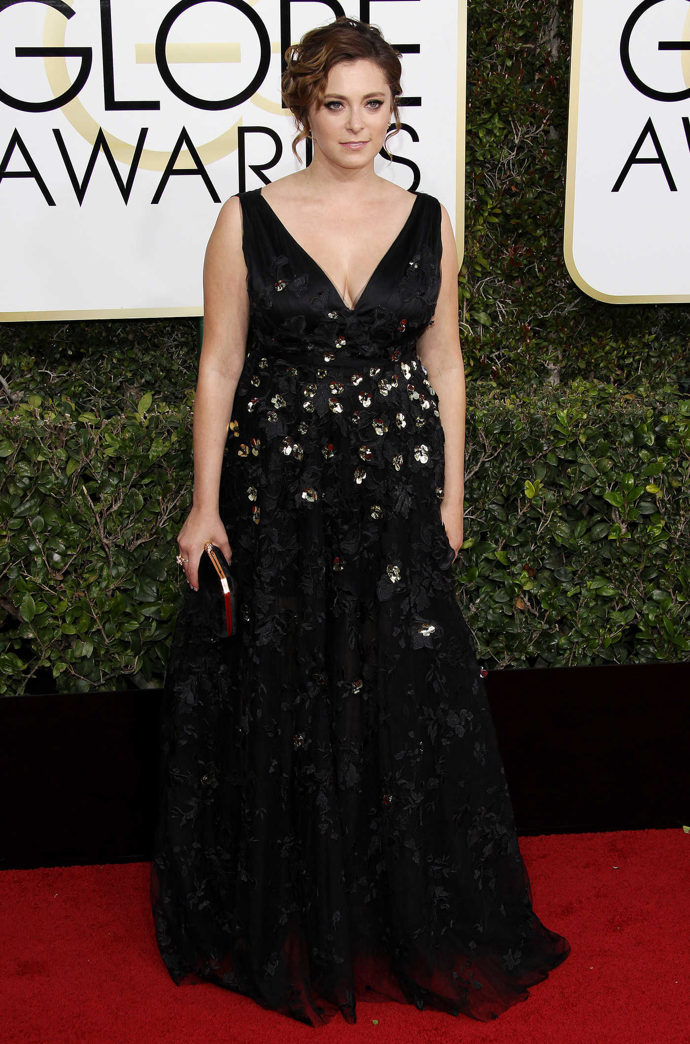 Rachel Bloom at the 74th Annual Golden Globe Awards in Beverly Hills 01/08/2017