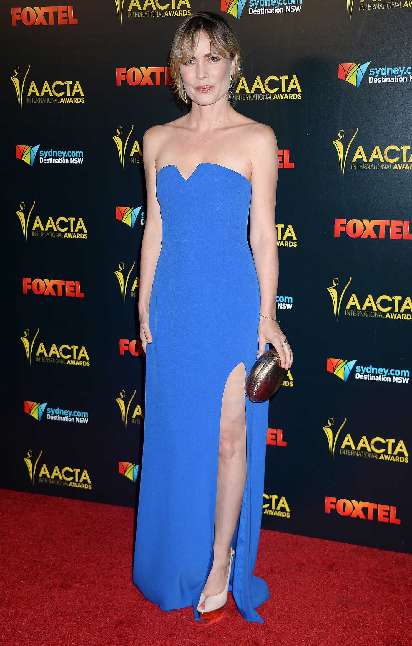Radha Mitchell at the 6th AACTA International Awards in Los Angeles 01/06/2017