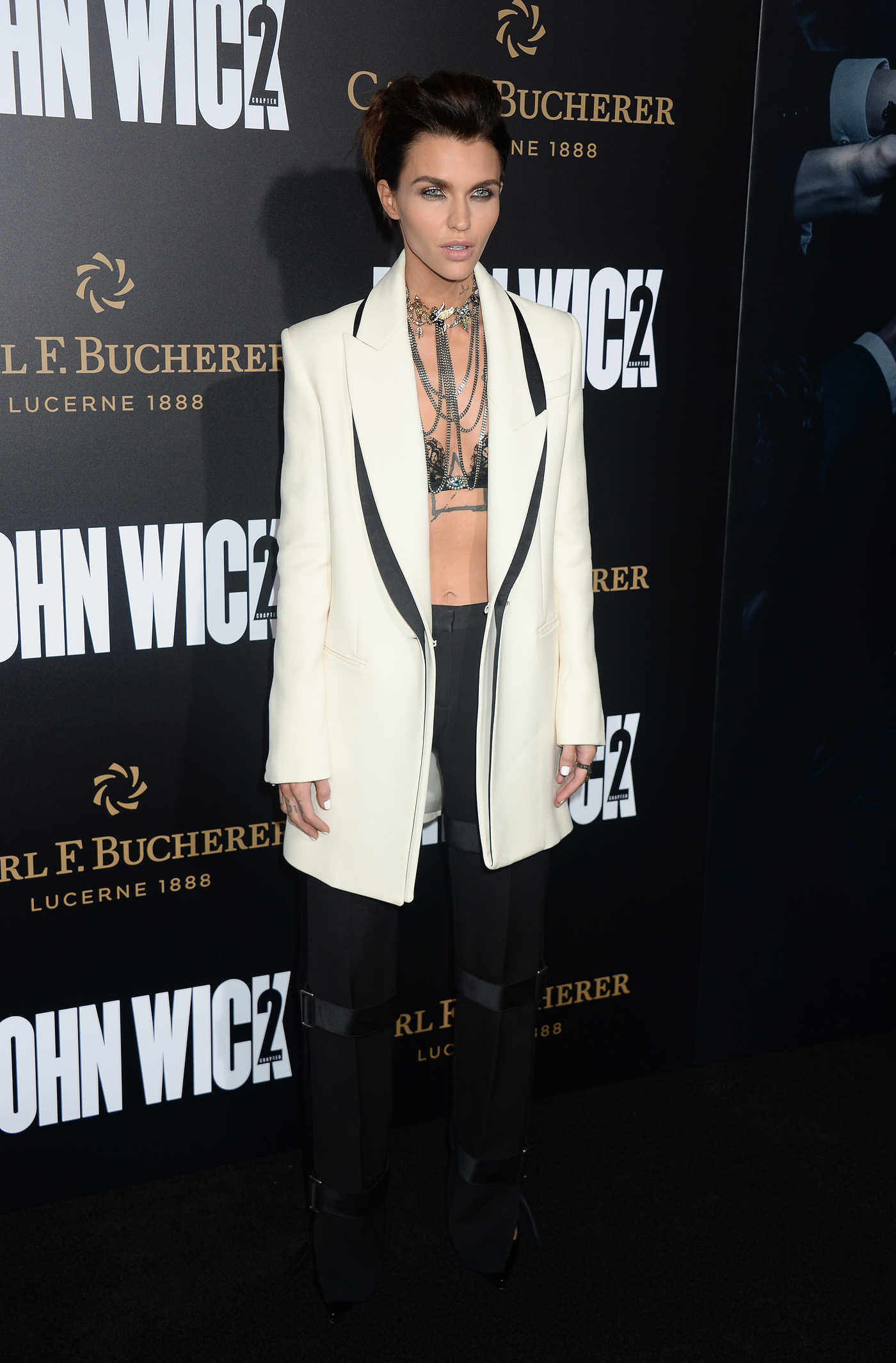 Ruby Rose at the John Wick: Chapter 2 Premiere in Los Angeles 01/30/2017