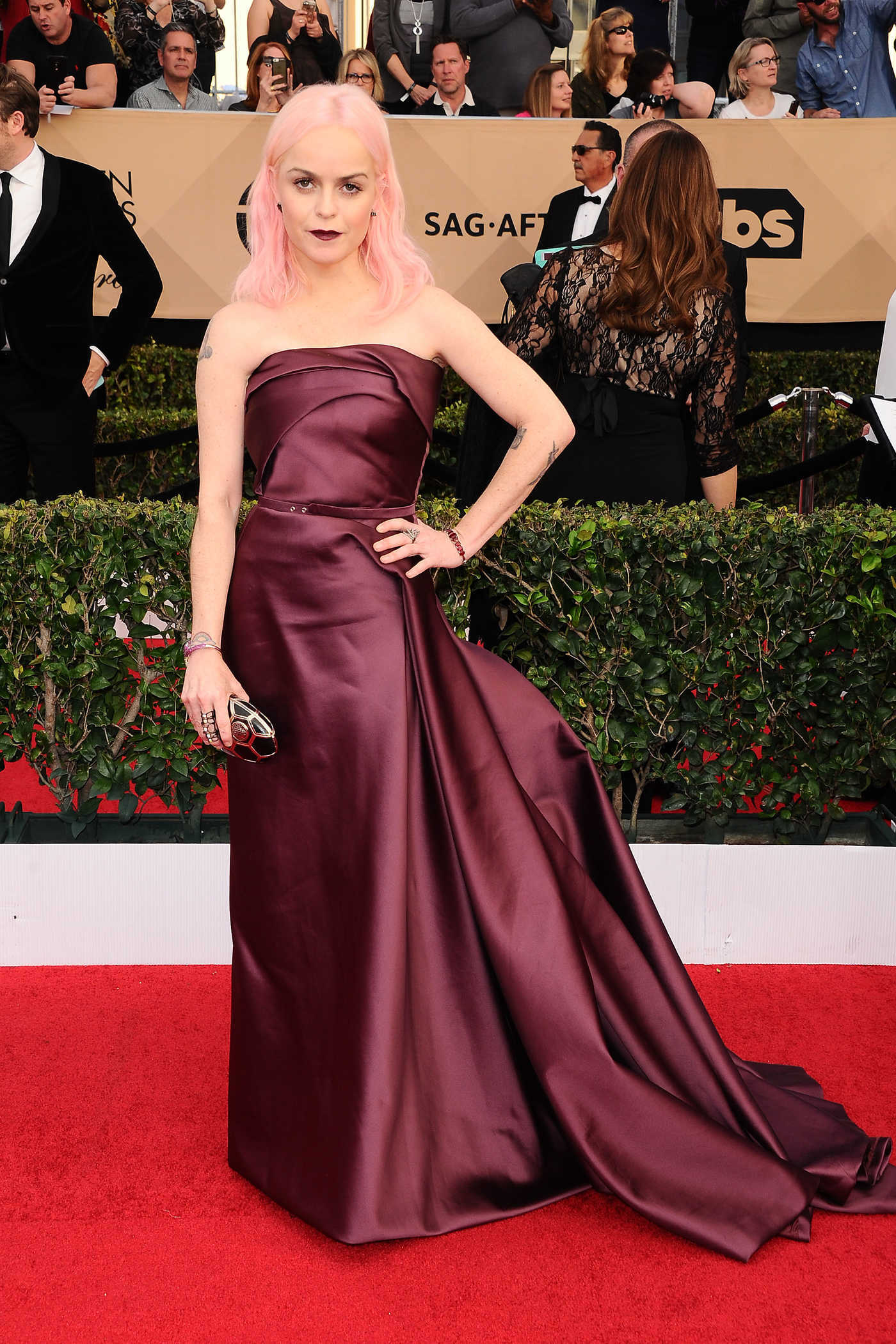 Taryn Manning at the 23rd Annual Screen Actors Guild Awards in Los Angeles 01/29/2017
