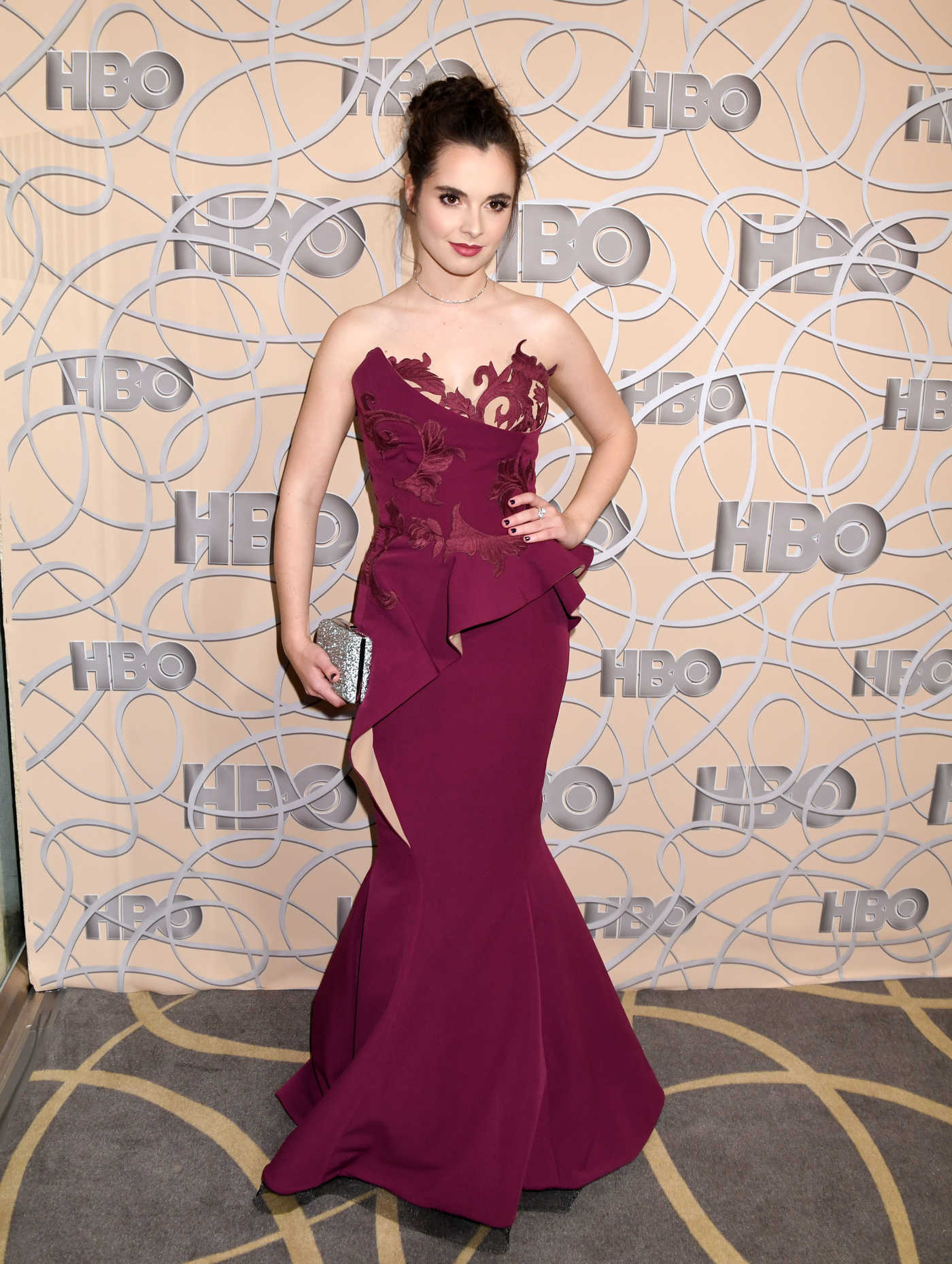 Vanessa Marano at the HBO's 2017 Golden Globe Awards After Party in Los Angeles 01/08/2017