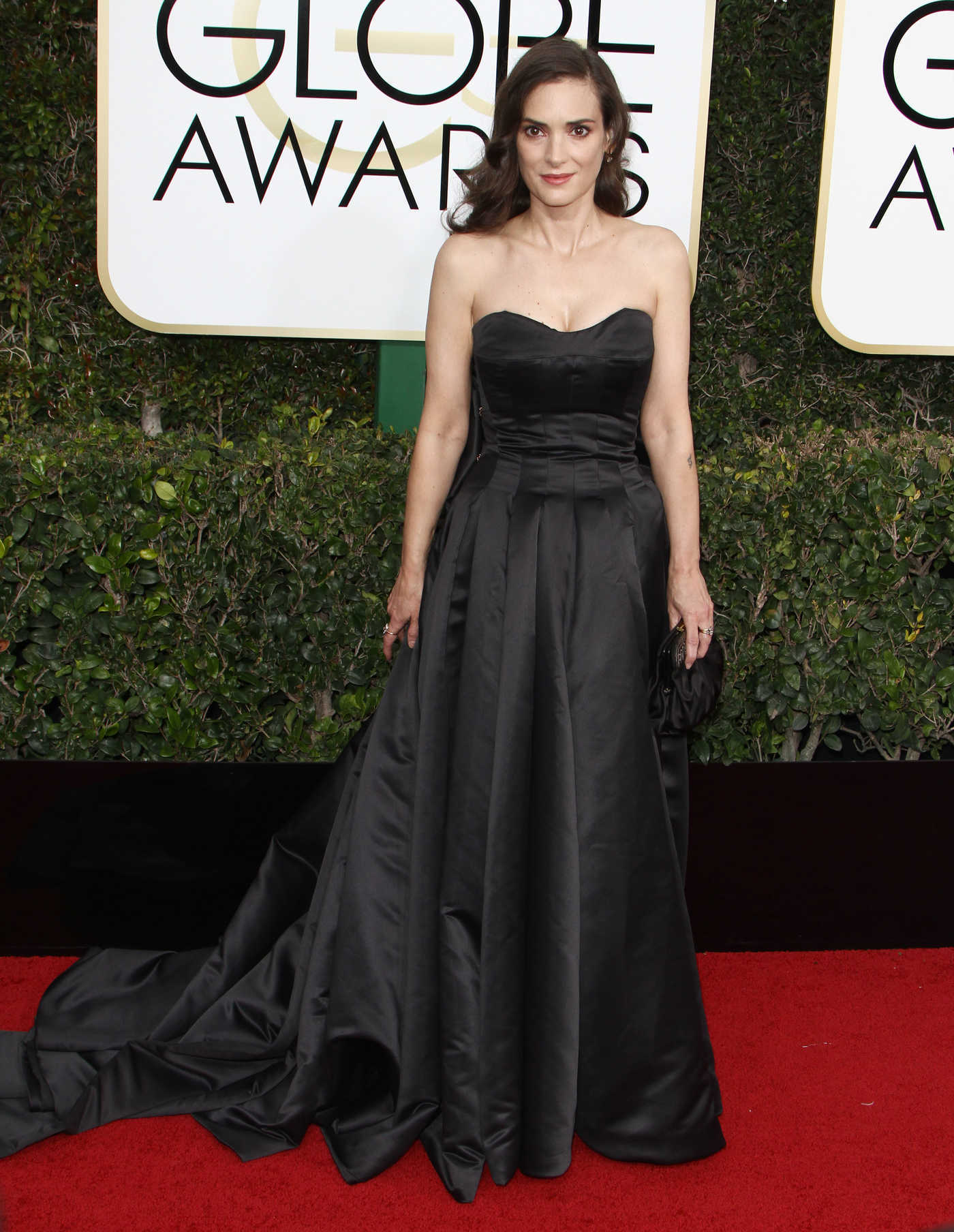 Winona Ryder at the 74th Annual Golden Globe Awards in Beverly Hills 01/08/2017