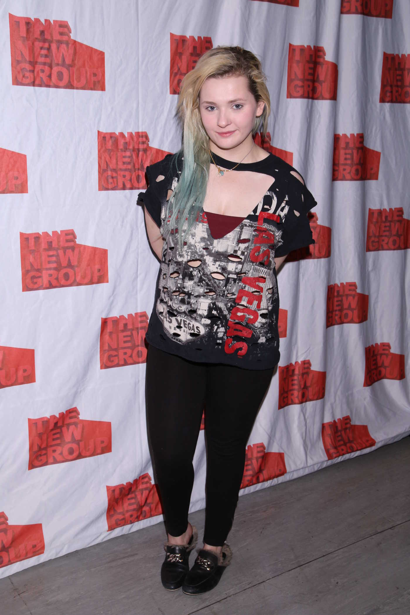Abigail Breslin at All the Fine Boys Photocall in New York 02/03/2017