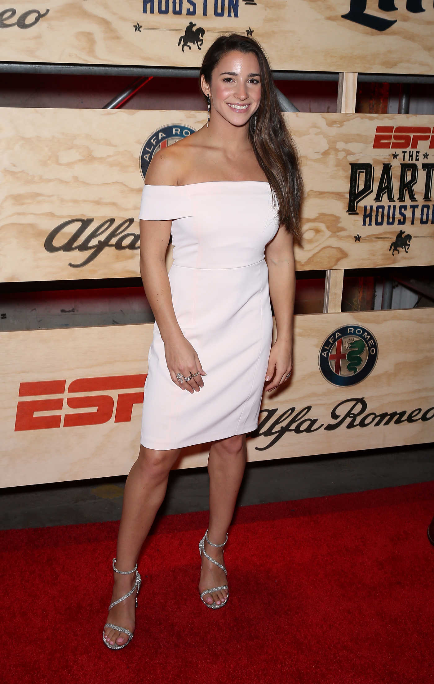 Aly Raisman at the 13th Annual ESPN The Party in Houston 02/03/2017