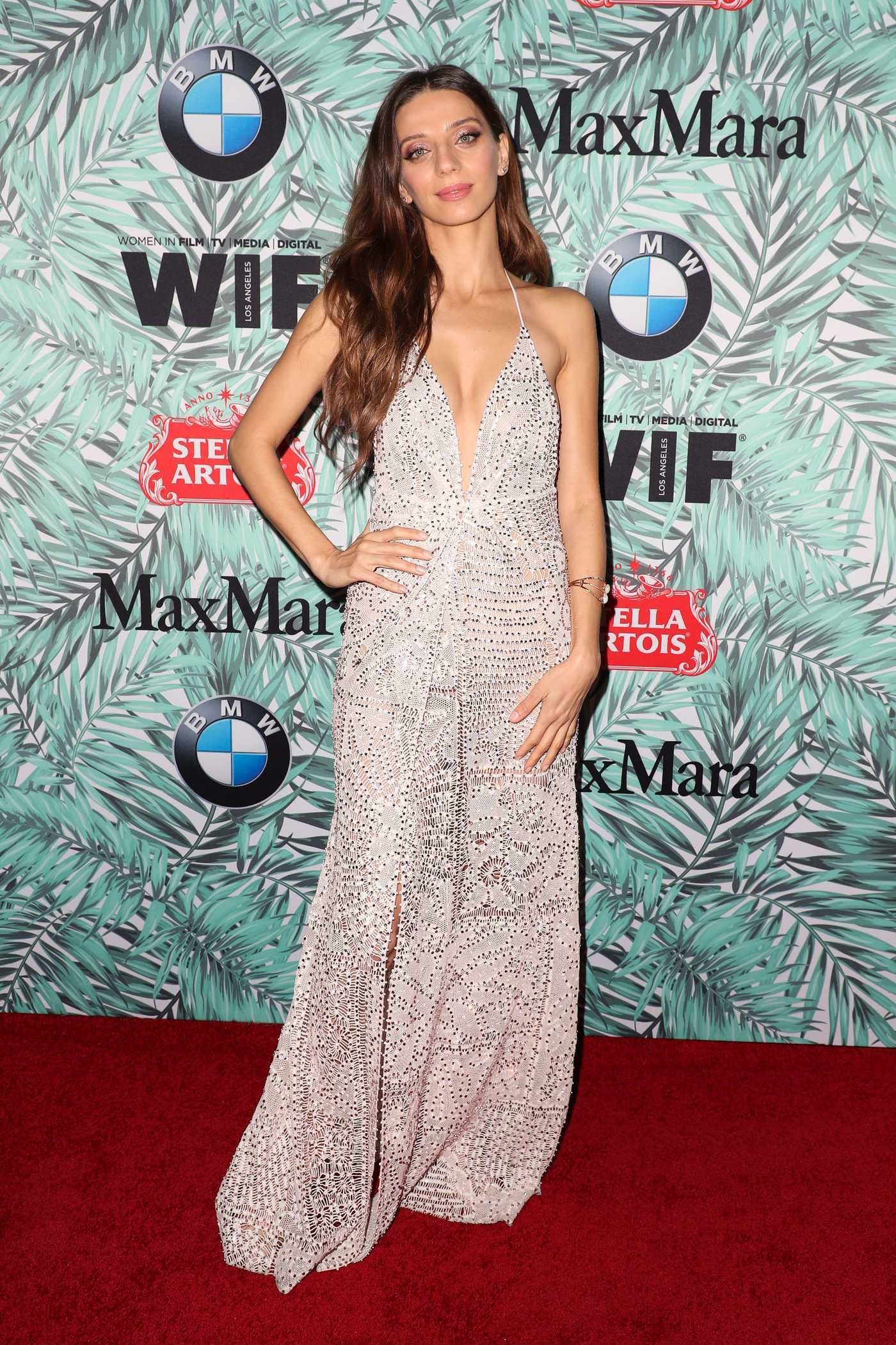 Angela Sarafyan at the Woman in Film Cocktail Party in Los Angeles 02/24/2017