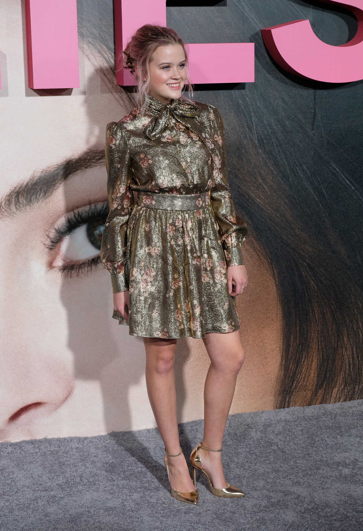 Ava Phillippe at the Big Little Lies Premiere at TCL Chinese Theaterin Los Angeles 02/07/2017