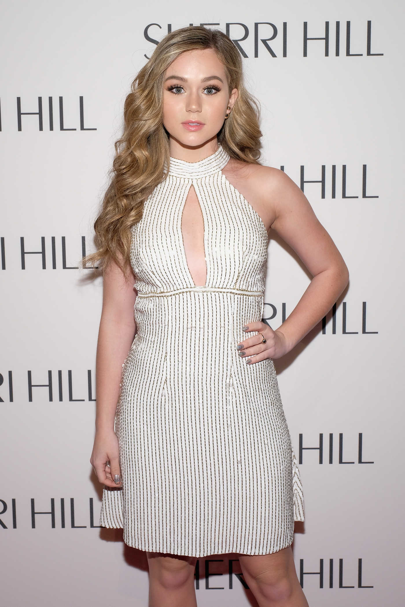 Brec Bassinger at the Sherri Hill Fashion Show During the New York Fashion Week 02/13/2017
