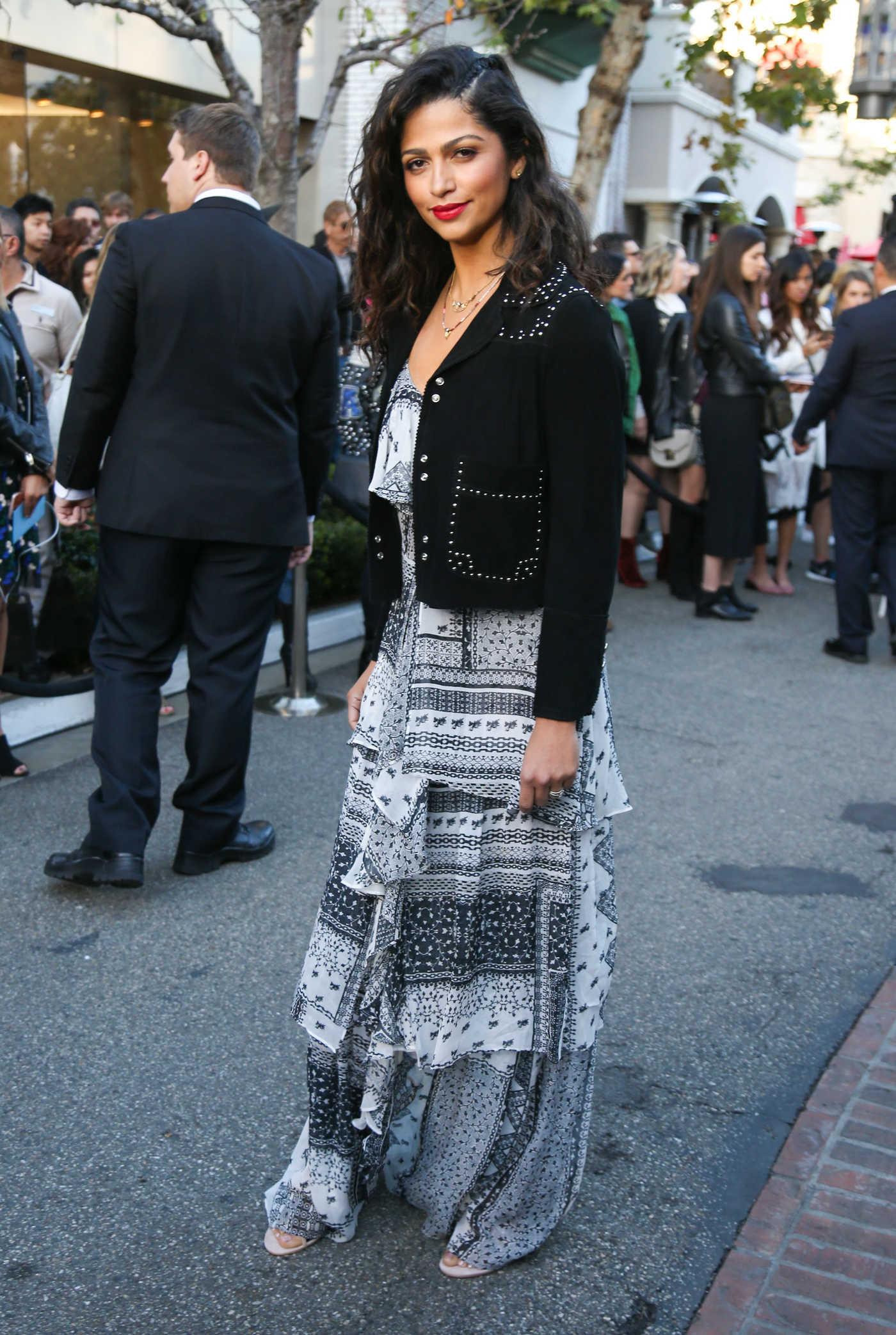 Camila Alves at the Rebecca Minkoff Fashion Show in Los Angeles 02/04/2017