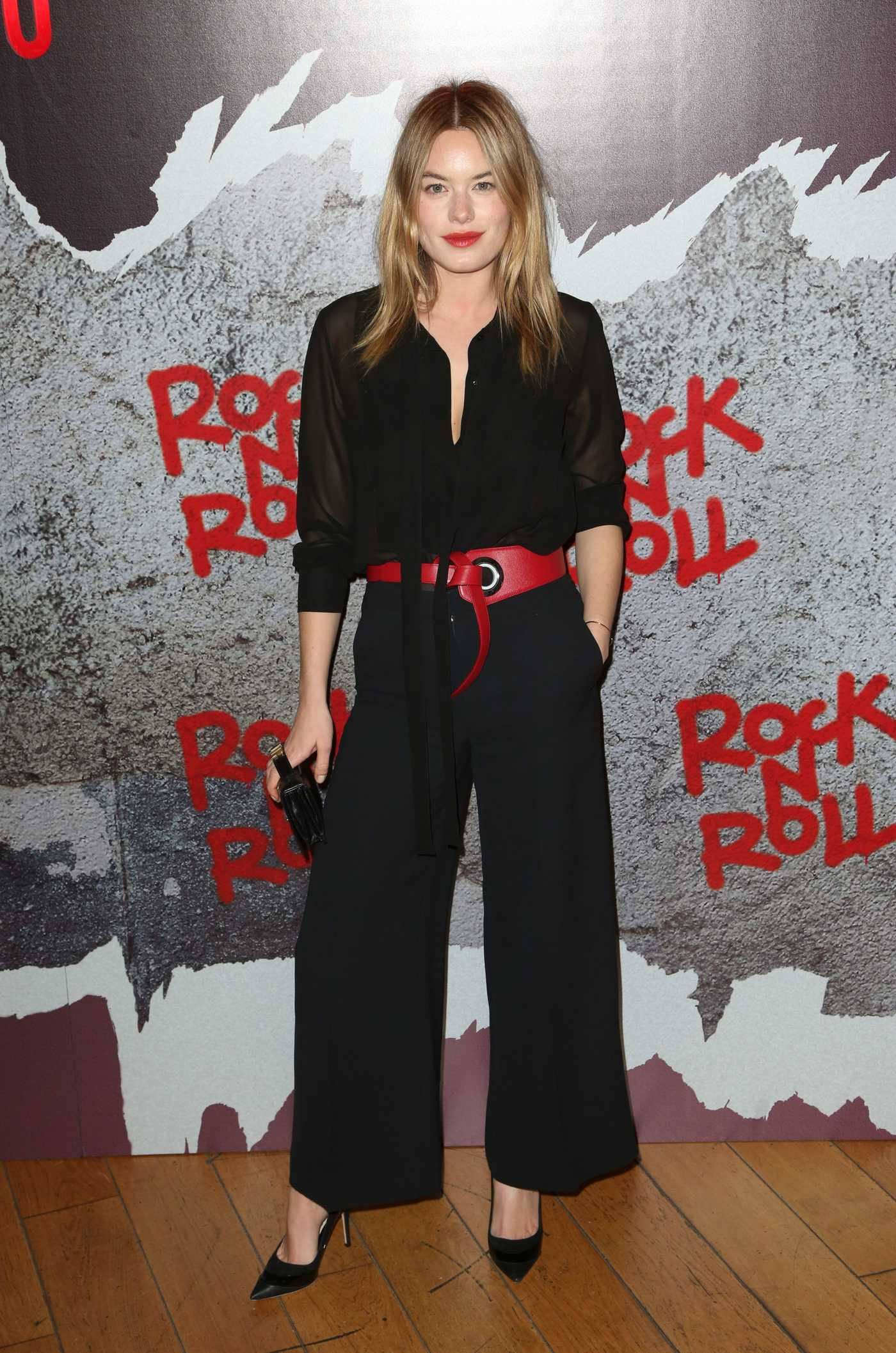 Camille Rowe at the Rock'n Roll Premiere at the  Cinema Pathe Beaugrenelle in Paris 02/13/2017