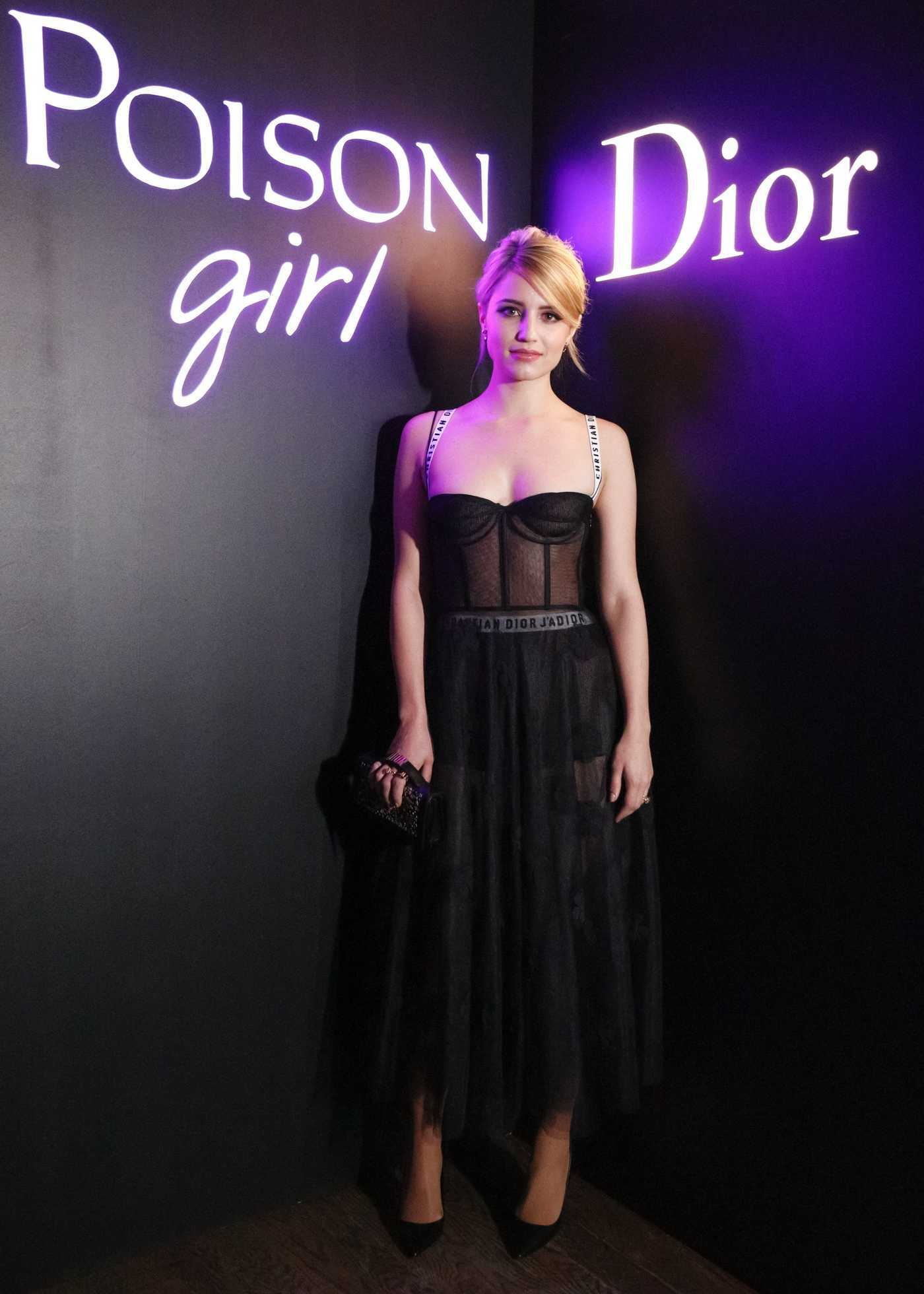 Dianna Agron at the Dior Poison Girl Eau de Toilette International Launch in New York 01/31/2017