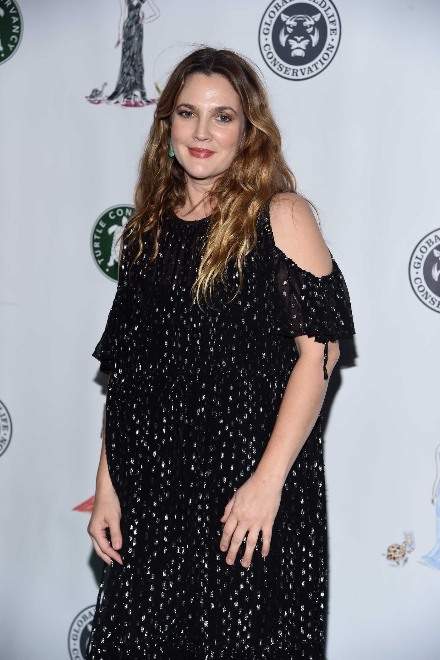 Drew Barrymore at the Fourth Annual Turtle Ball in New York 04/17/2017