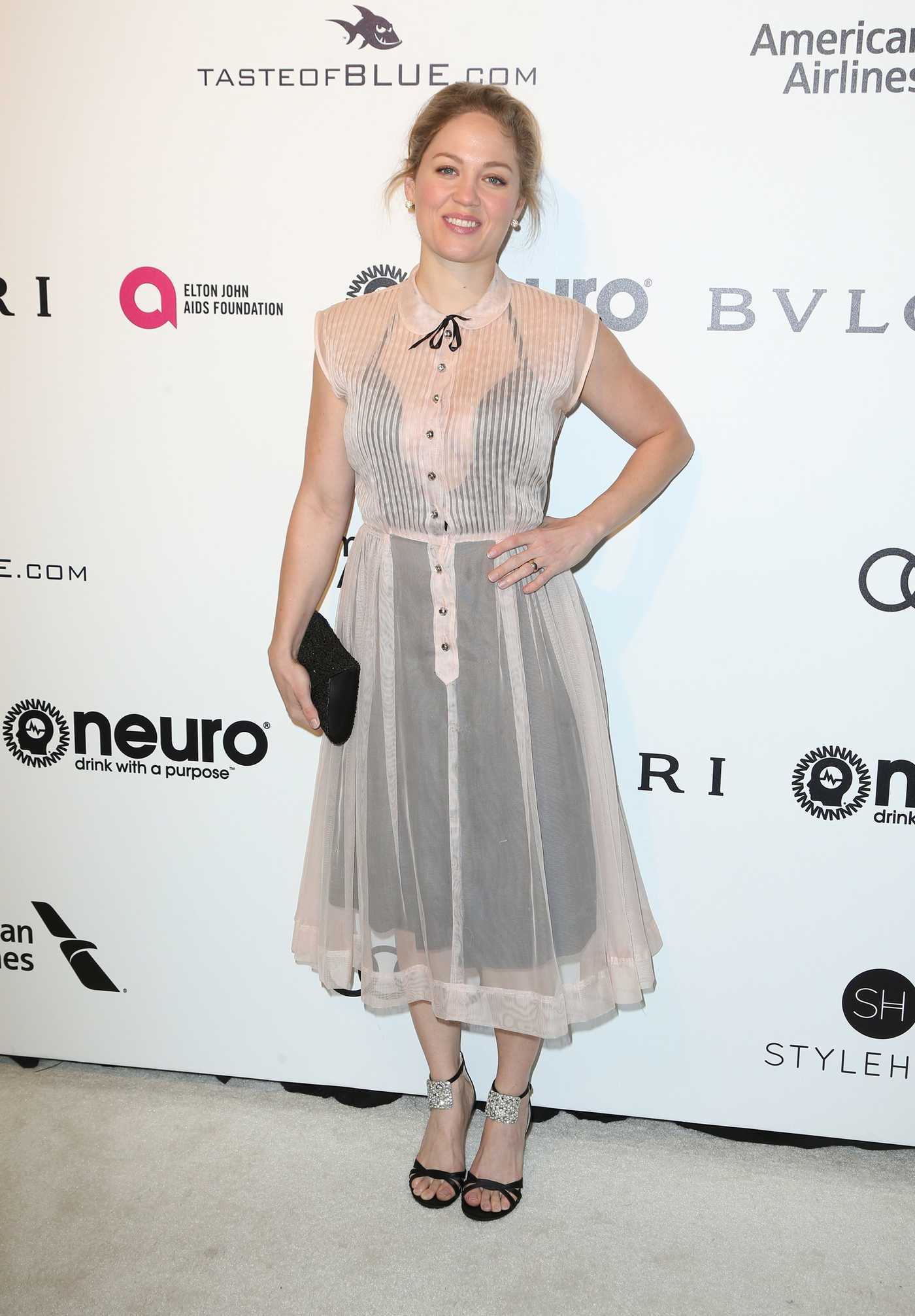 Erika Christensen at Elton John AIDS Foundation Academy Awards Viewing Party in Los Angeles 02/26/2017