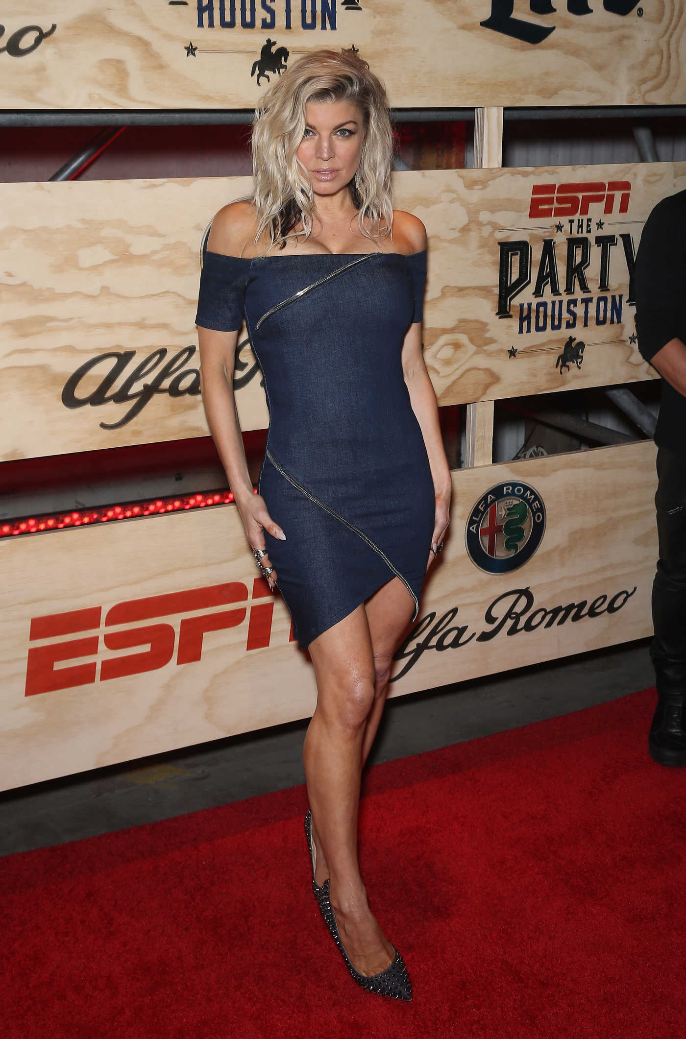 Fergie at the 13th Annual ESPN The Party in Houston 02/03/2017