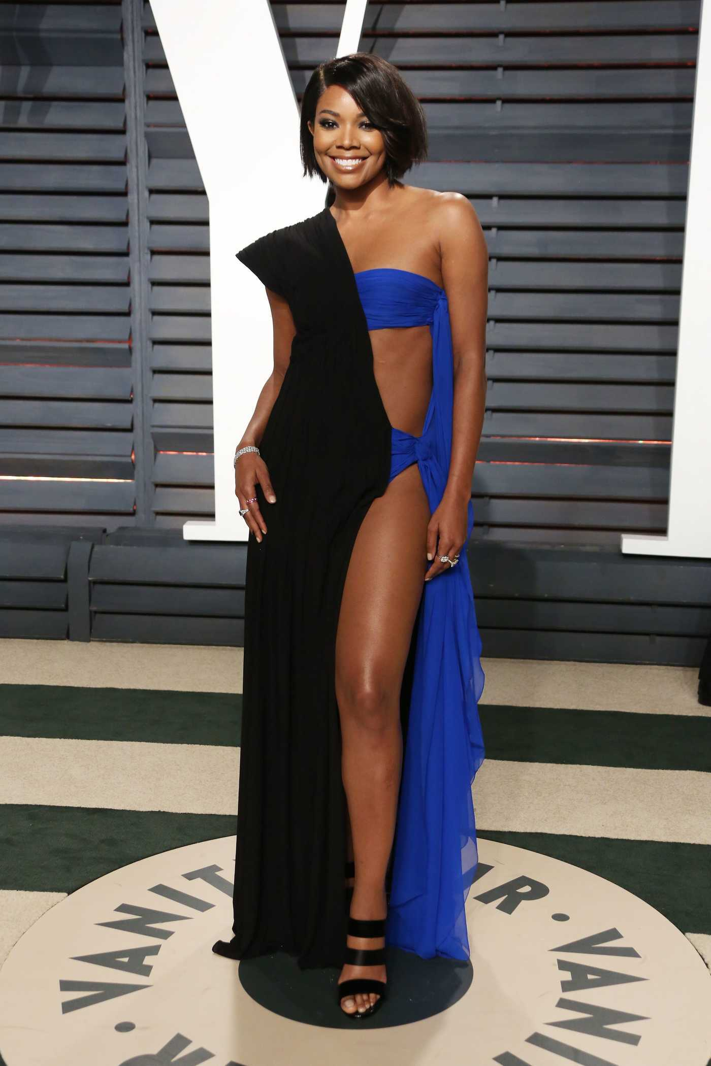 Gabrielle Union at the 2017 Vanity Fair Oscar Party Hosted by Graydon Carter in Beverly Hills 02/26/2017
