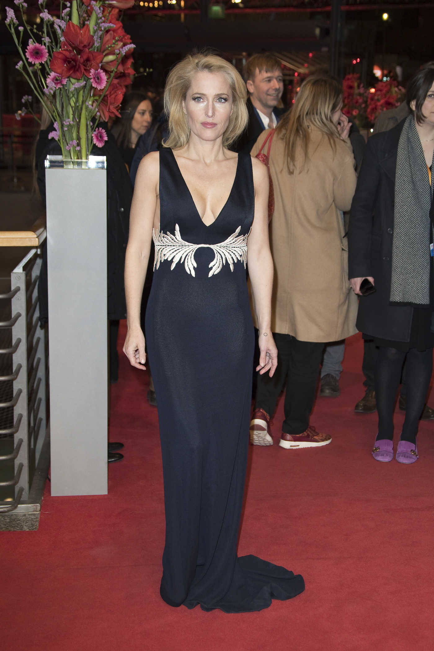 Gillian Anderson at the Viceroy's House Premiere During the 67th Berlinale International Film Festival in Berlin 02/12/2017