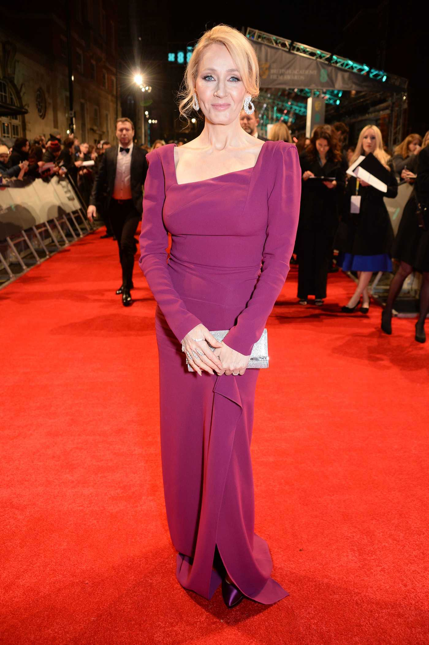 J.K. Rowling at the 70th Annual EE British Academy Film Awards in London 02/12/2017