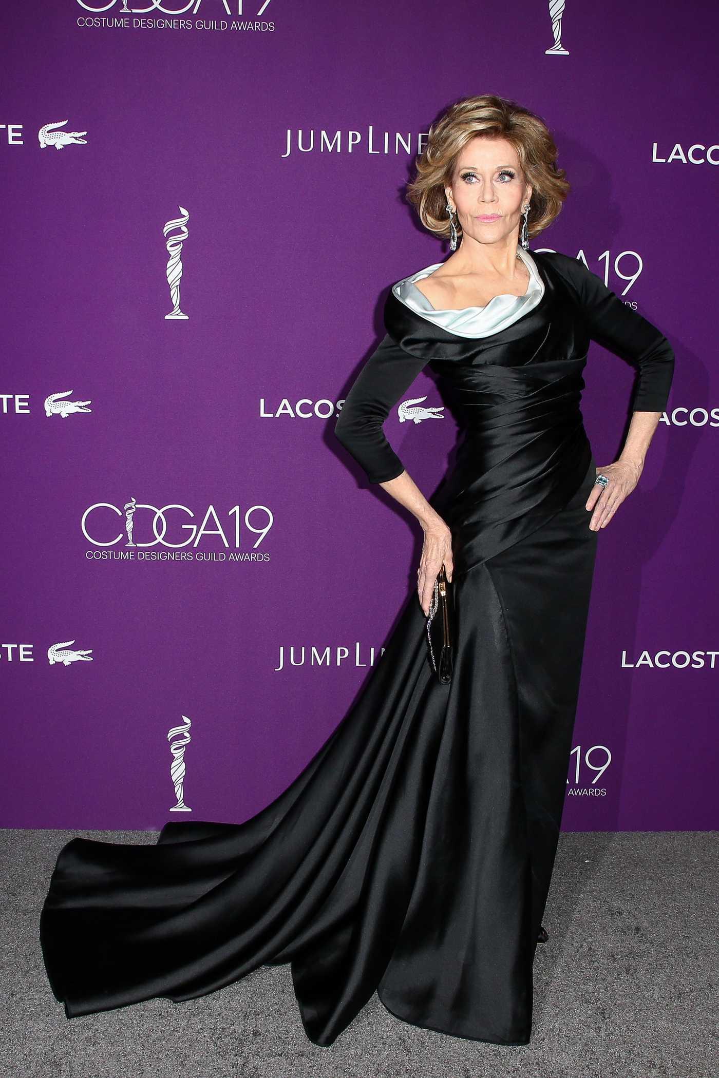 Jane Fonda at the 2017 Costume Designer Guild Awards in Los Angeles 02/21/2017