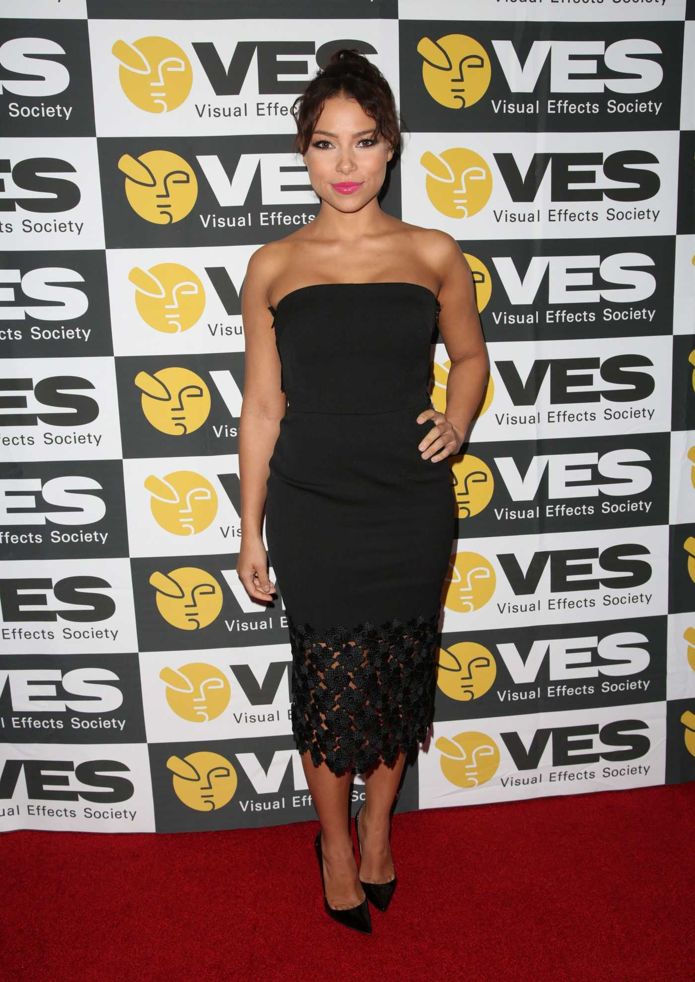 Jessica Parker Kennedy at the 15th Annual VES Awards in Los Angeles 02/07/2017
