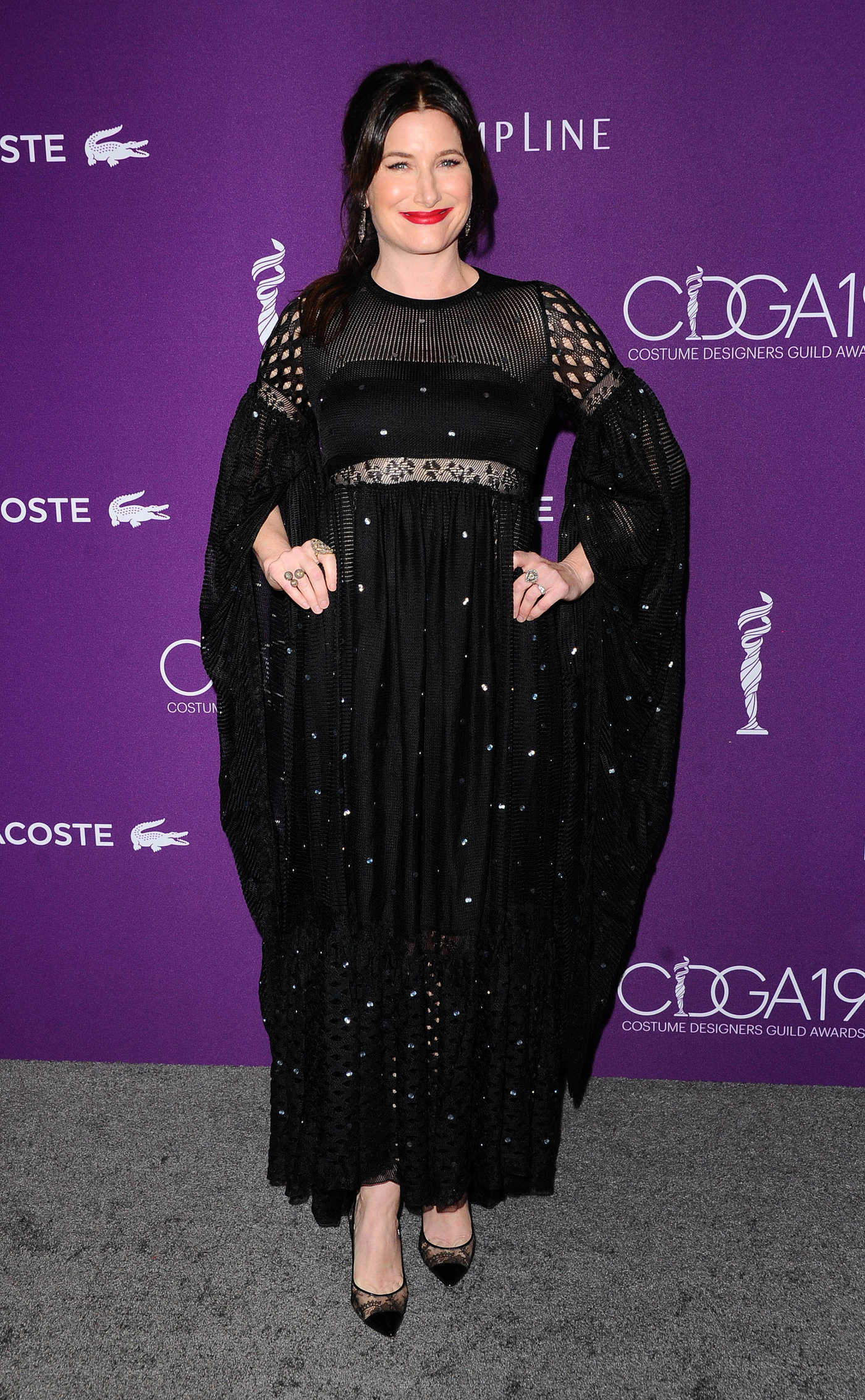 Kathryn Hahn at the 2017 Costume Designer Guild Awards in Los Angeles 02/21/2017