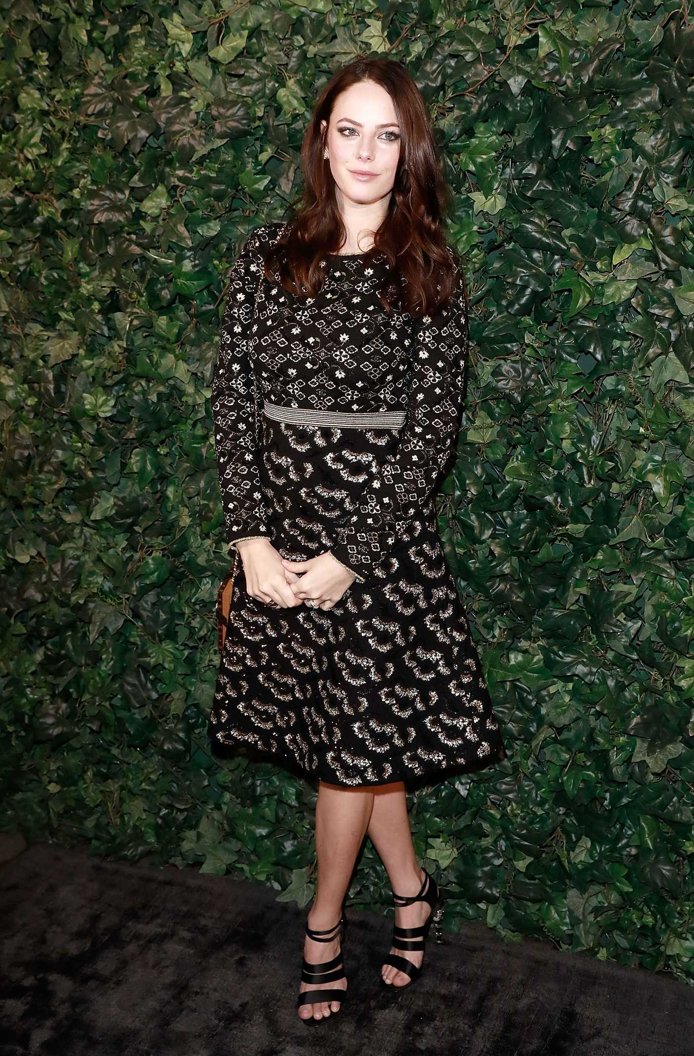 Kaya Scodelario at the Harvey Weinstein Pre BAFTA Dinner in London 02/10/2017