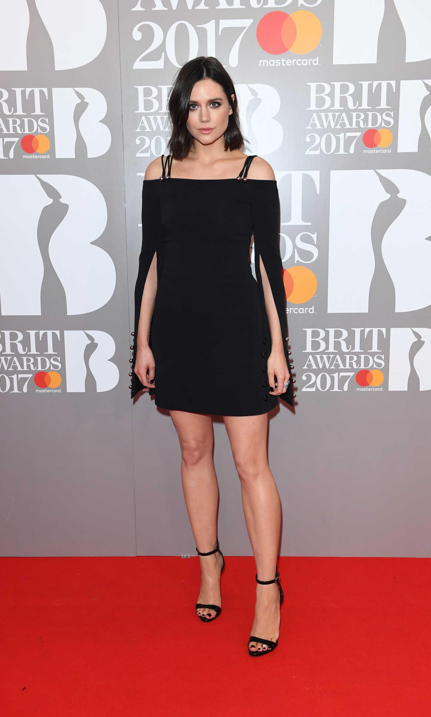 Lilah Parsons at the Brit Awards at O2 Arena in London 02/22/2017