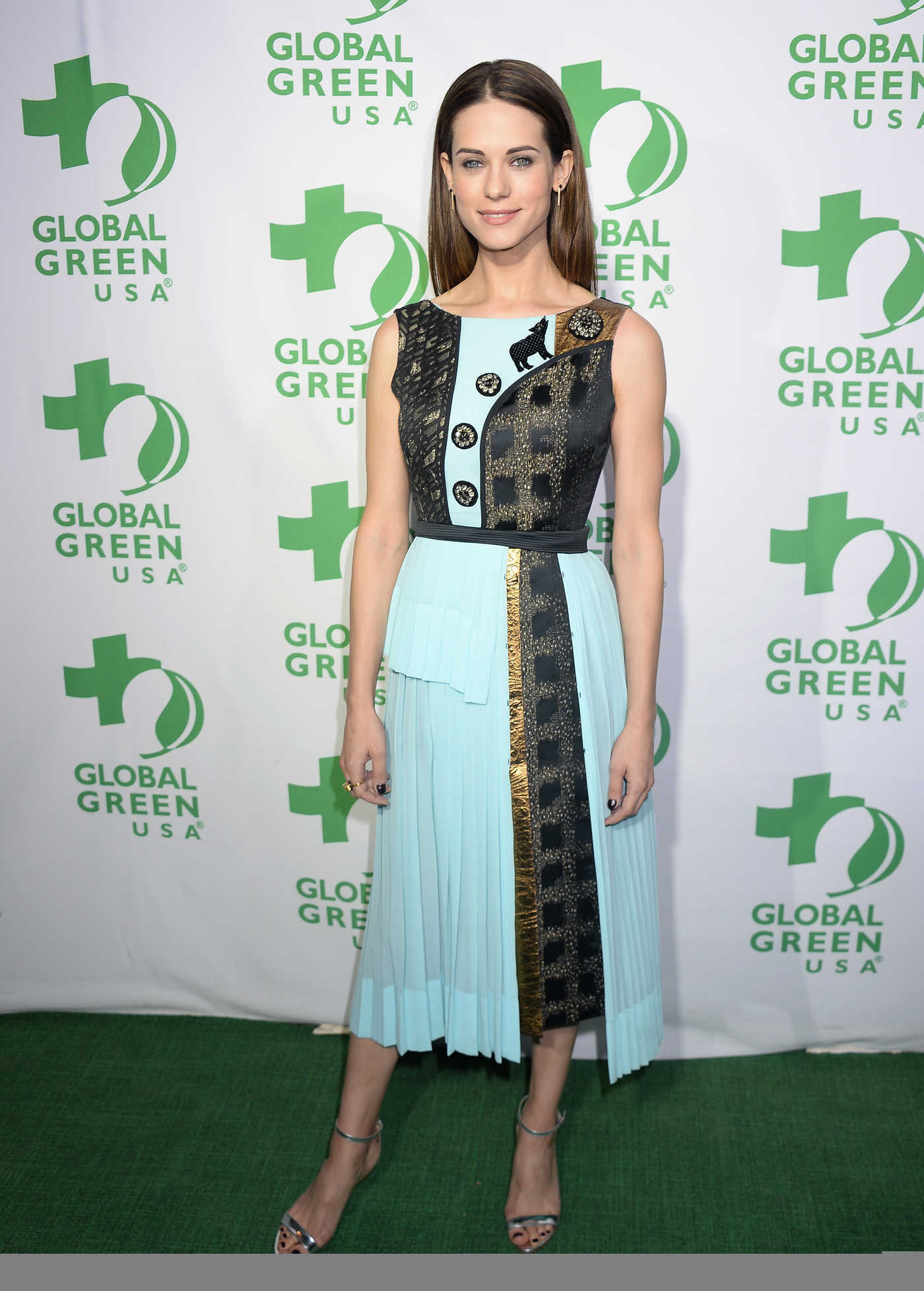 Lyndsy Fonseca at the 14th Annual Global Green Pre Oscar Party in Los Angeles 02/22/2017