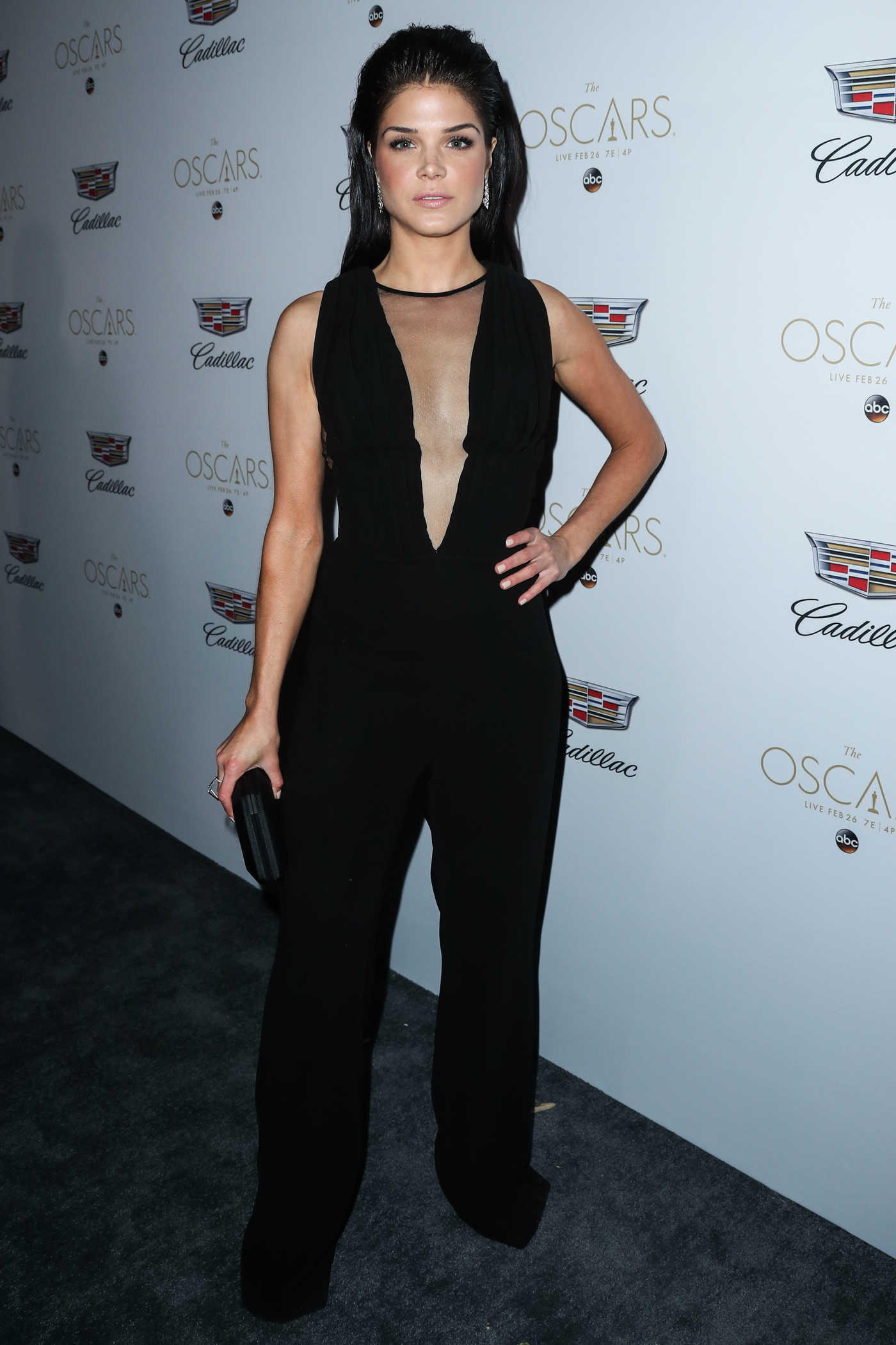 Marie Avgeropoulos at the Cadillac Celebrates the 89th Annual Academy Awards in Los Angeles 02/23/2017