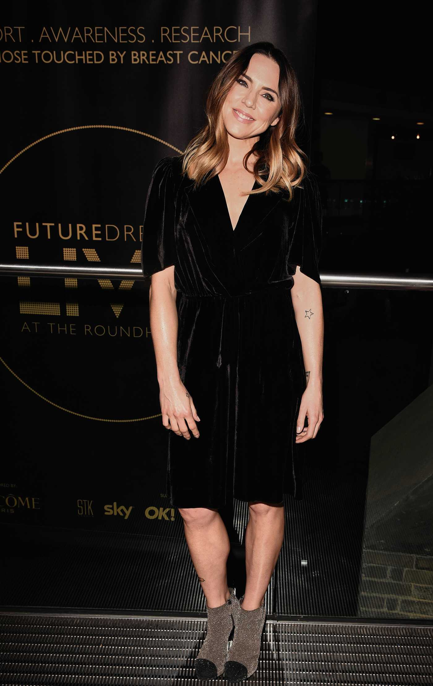 Melanie Chisholm at the Future Dreams Fundraising Charity Gala at the Roundhouse in London 02/23/2017
