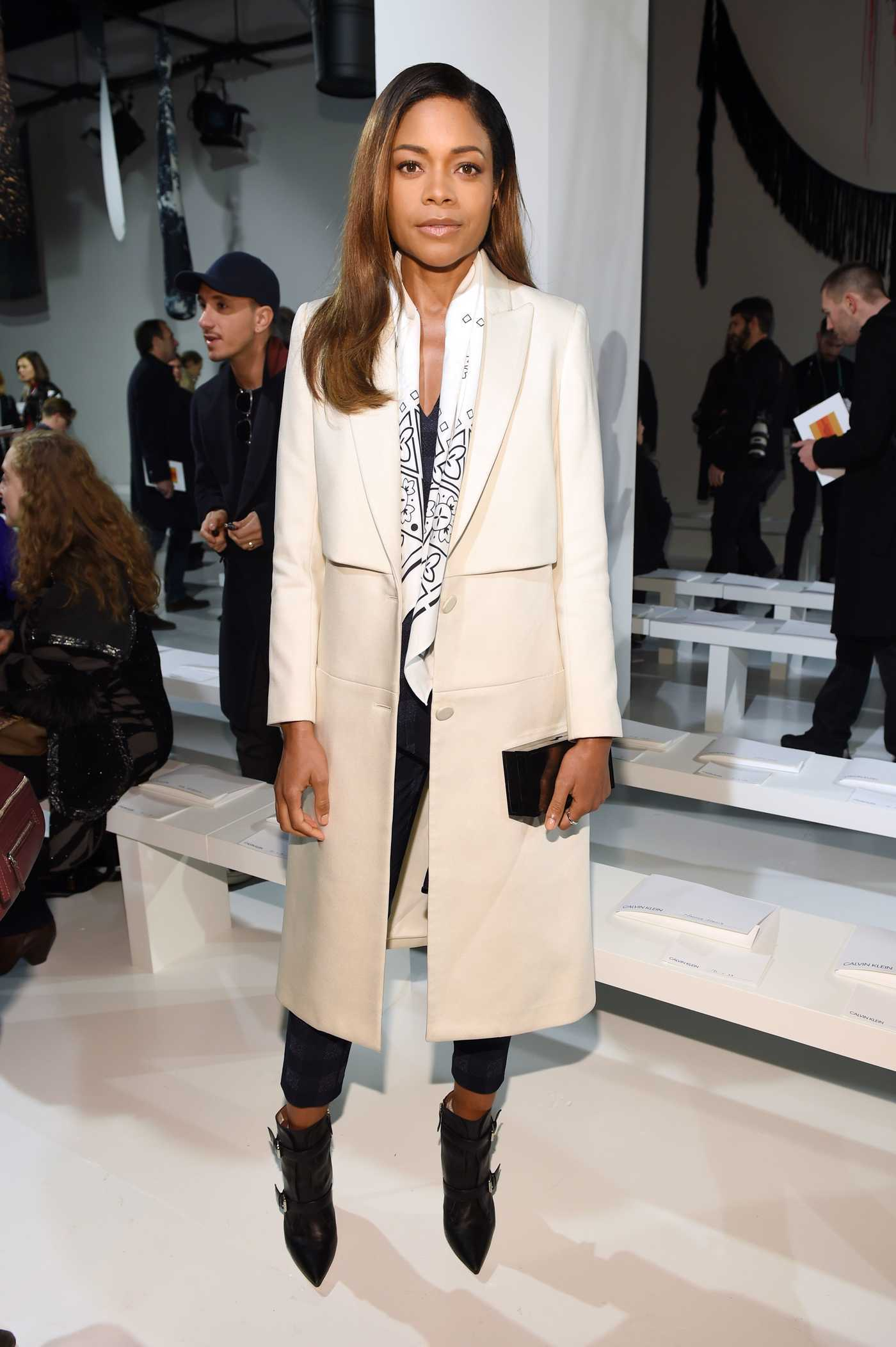 Naomie Harris at the Calvin Klein Fashion Show During the New York Fashion Week 02/10/2017