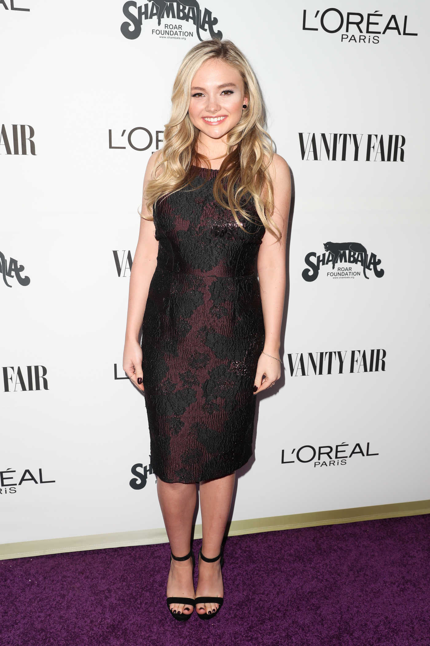 Natalie Alyn Lind at the Vanity Fair and L'Oreal Paris Toast to Young Hollywood at Delilah in West Hollywood 02/21/2017