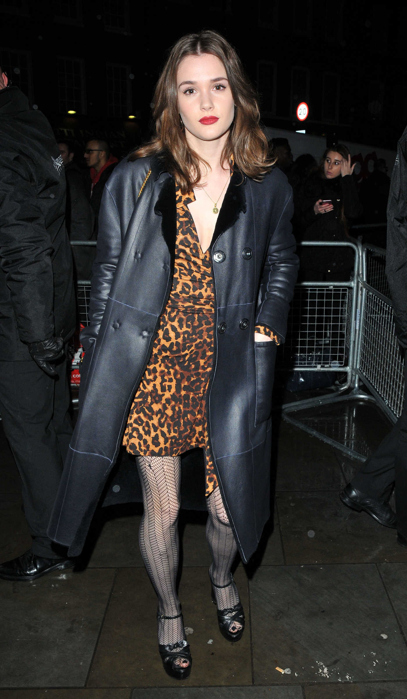 Sai Bennett Arrives at Universal Music Brit Awards After Party in London 02/22/2017