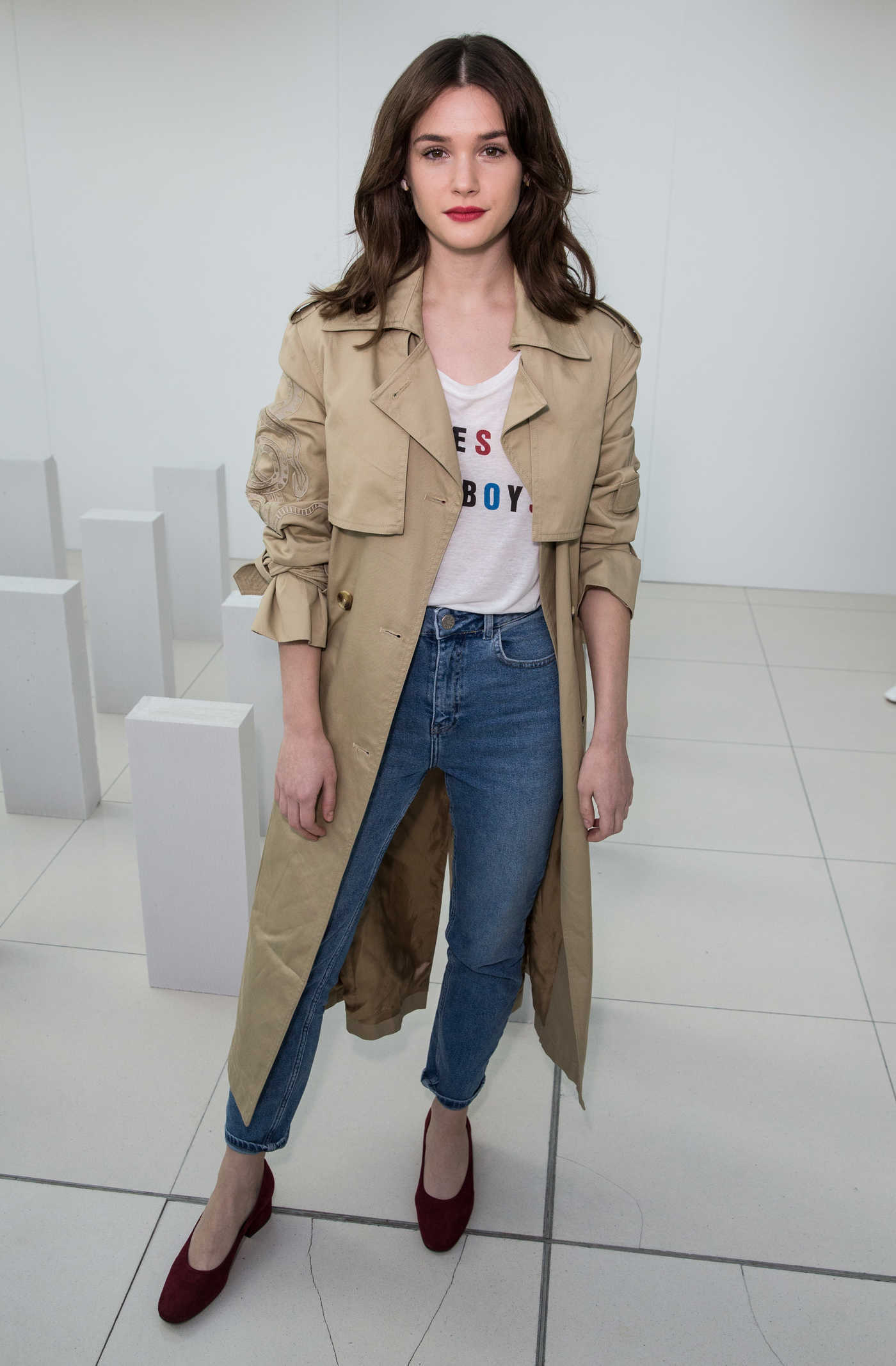 Sai Bennett at the Marcus Lupfer Presentation During the London Fashion Week 02/18/2017