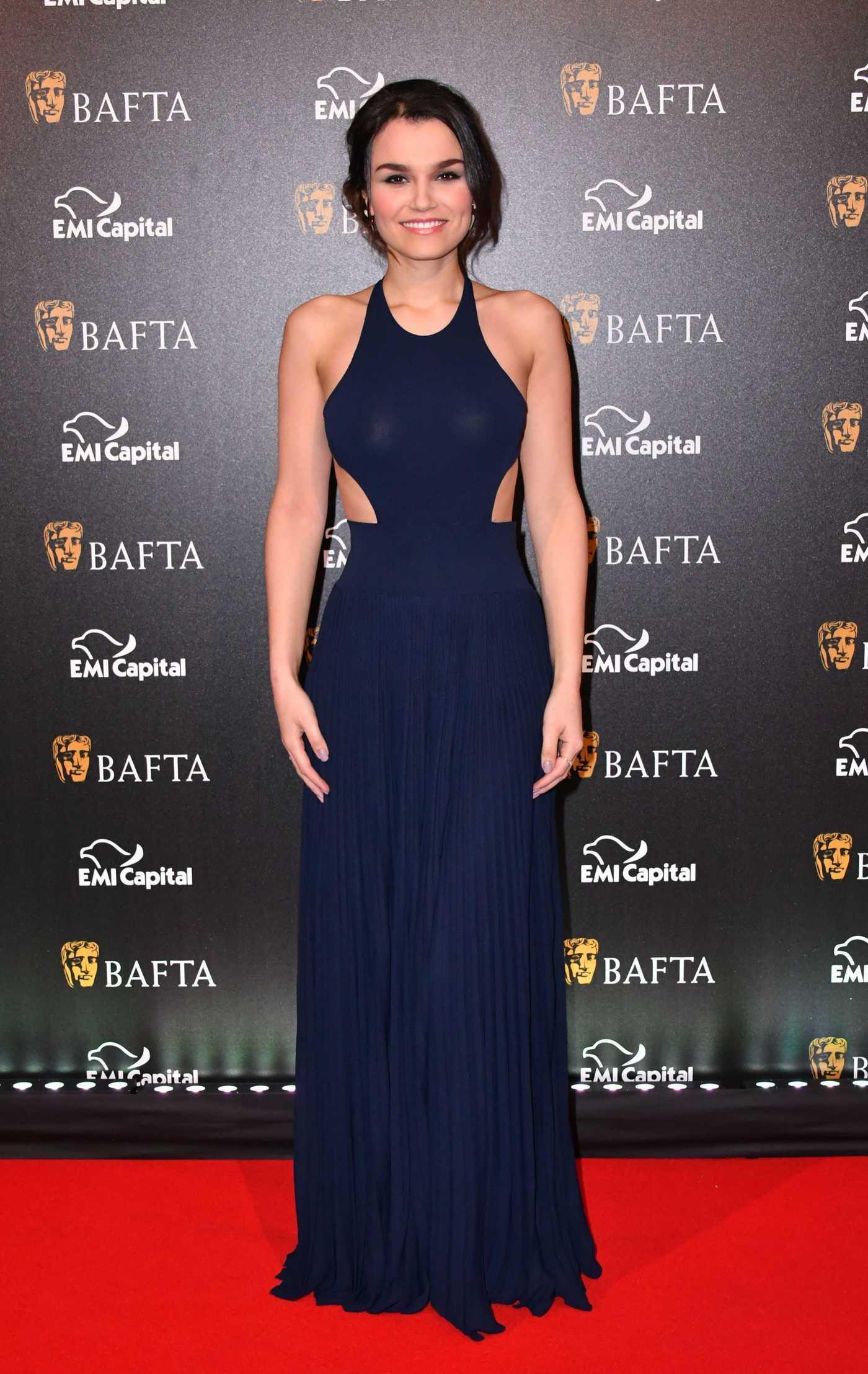 Samantha Barks at the Harvey Weinstein Pre BAFTA Dinner in London 02/10/2017